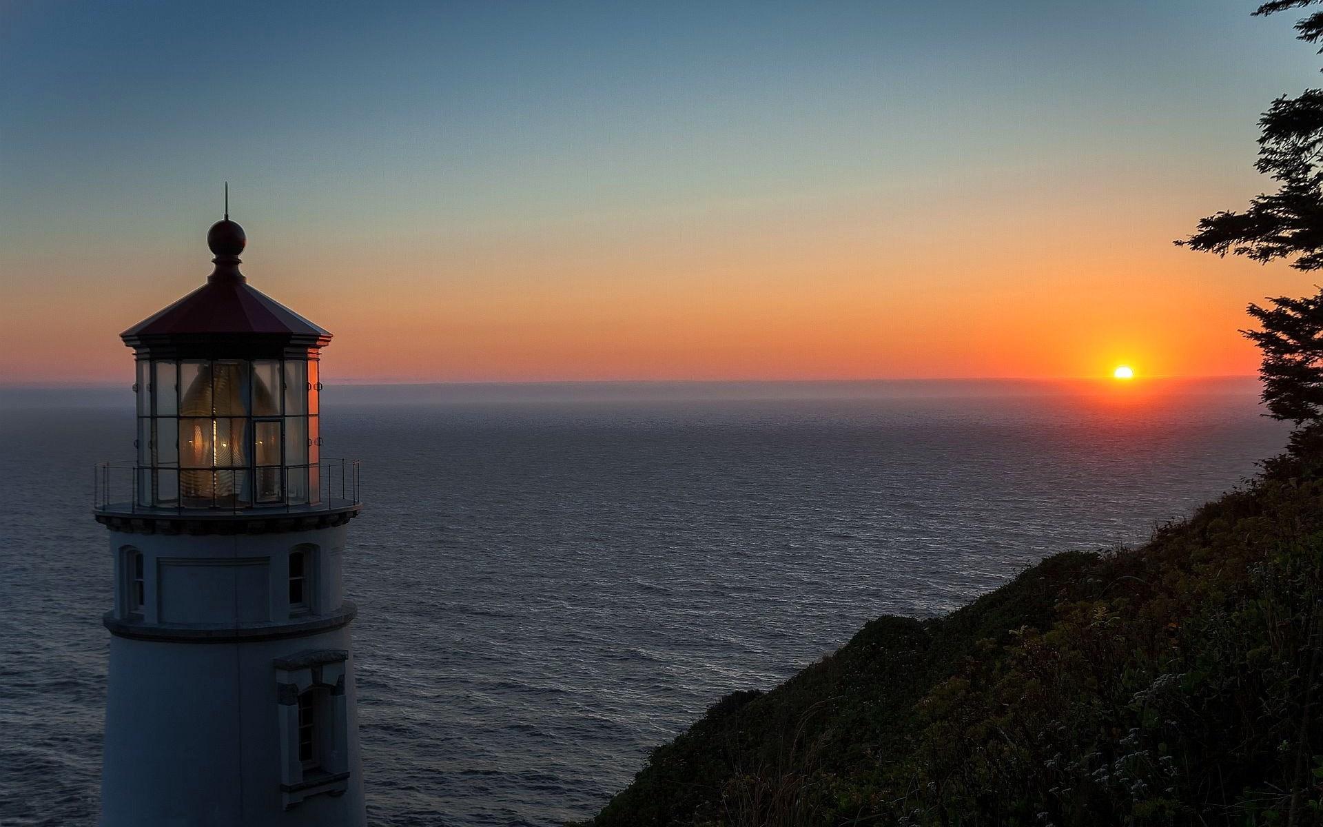 маяк небо море дом  № 3968890 бесплатно