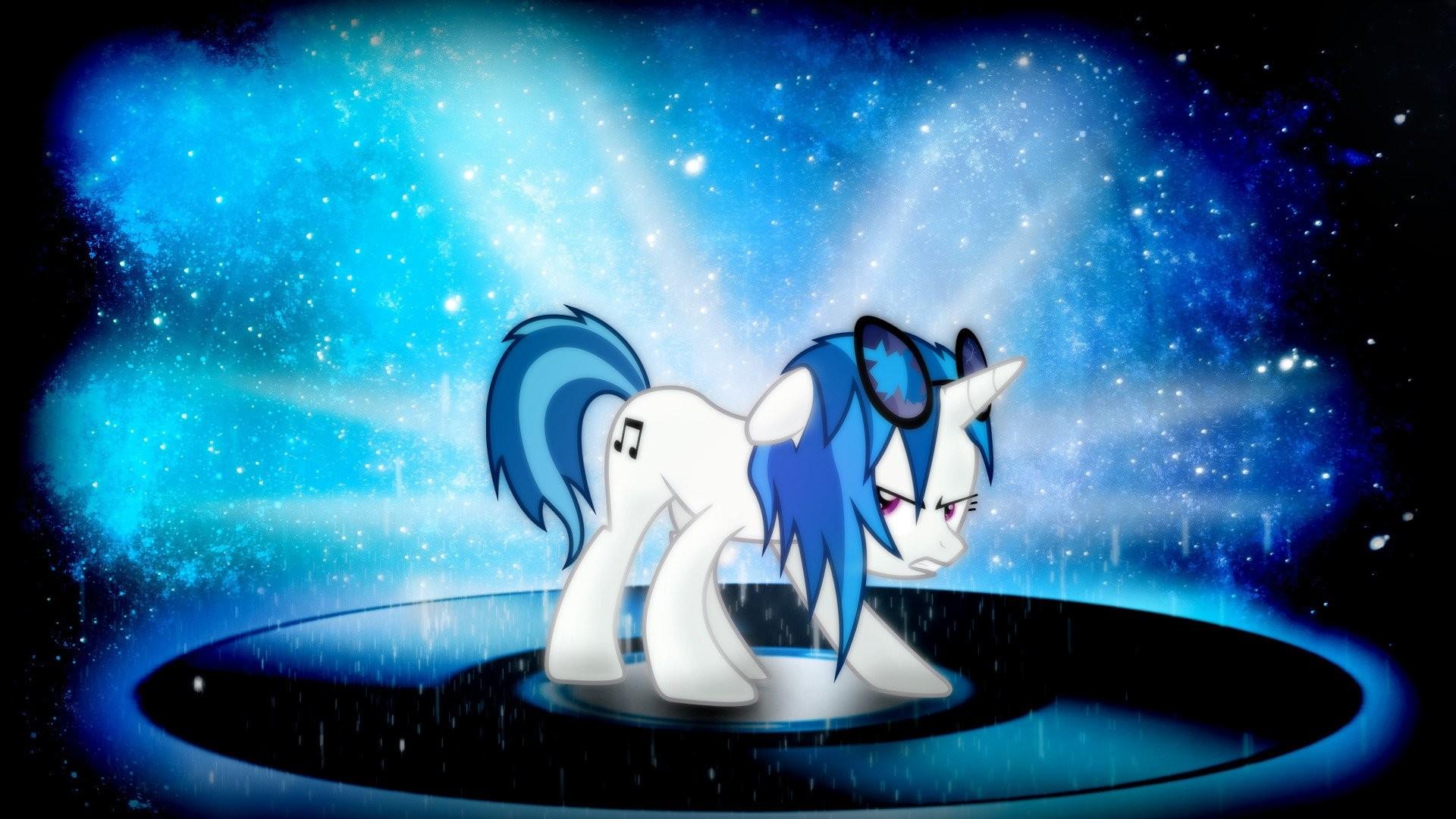 my little pony vinyl scratch iphone wallpaper ·①
