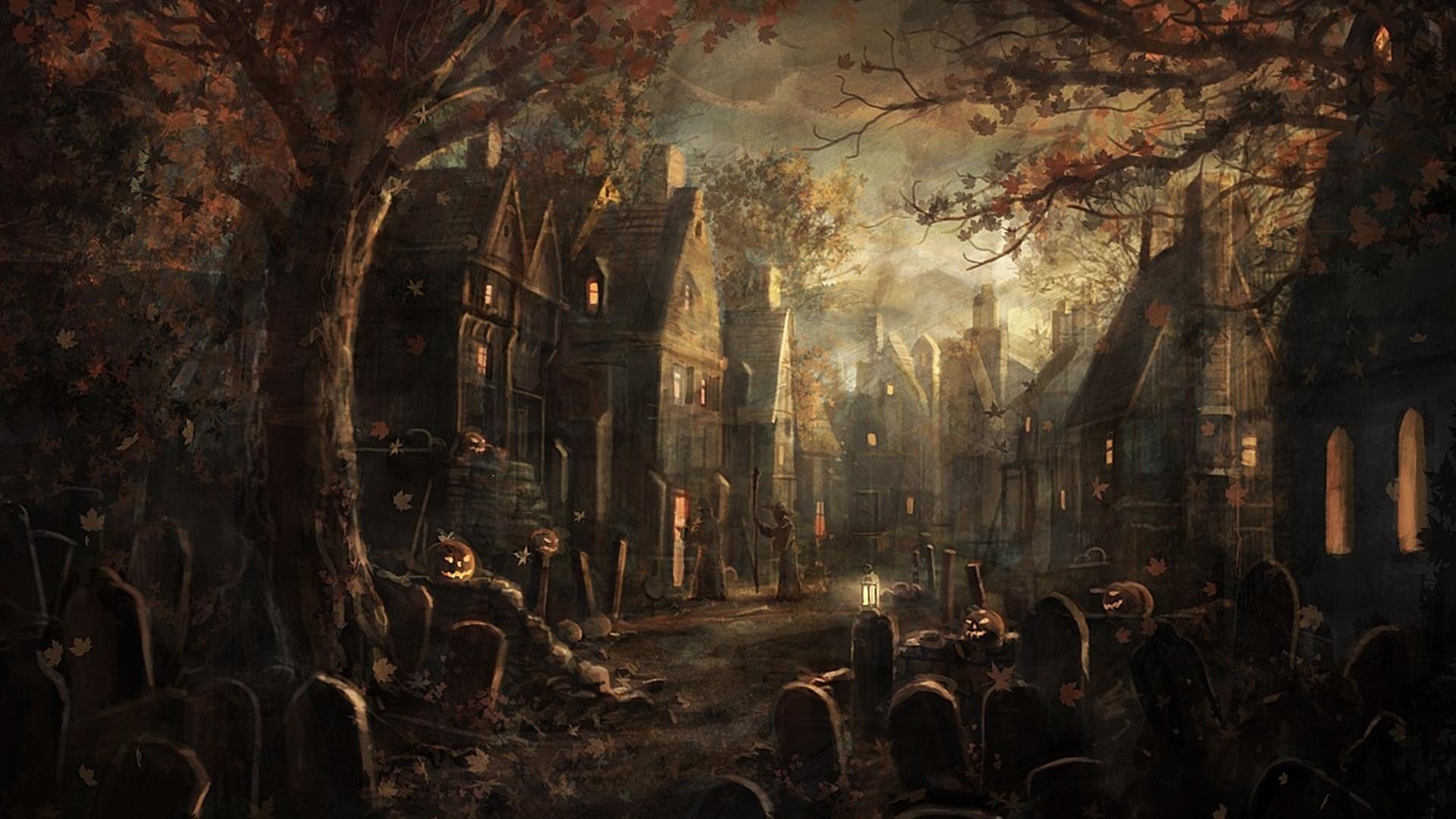 large halloween wallpaper 2560x1440