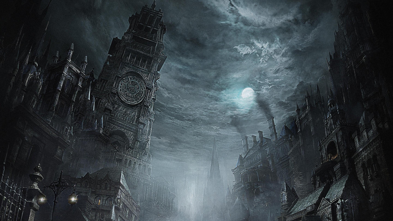 Gothic horror wallpaper wallpapertag - Dark horror creepy wallpapers ...