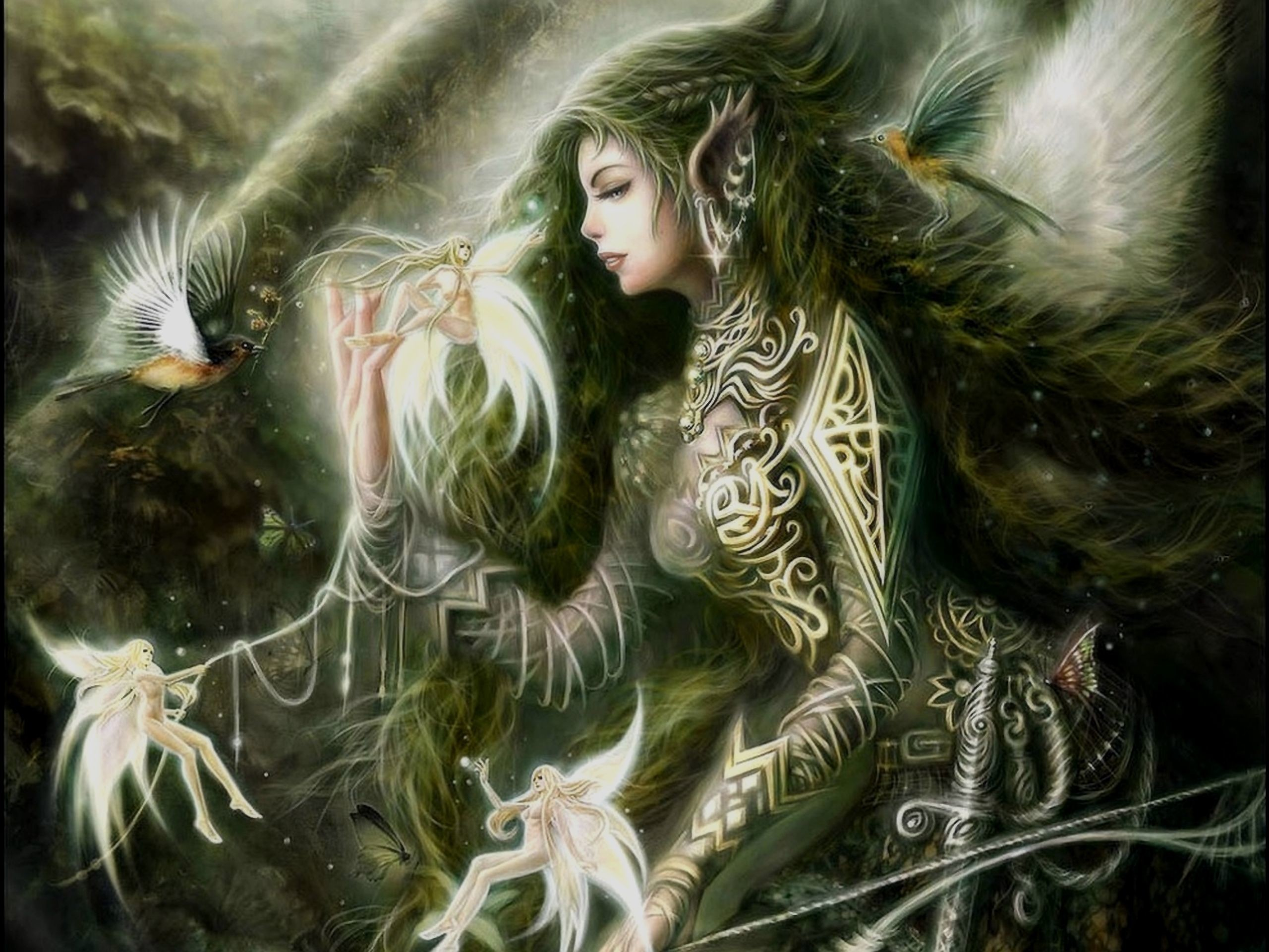 Gothic Fairies Wallpaper Wallpapertag