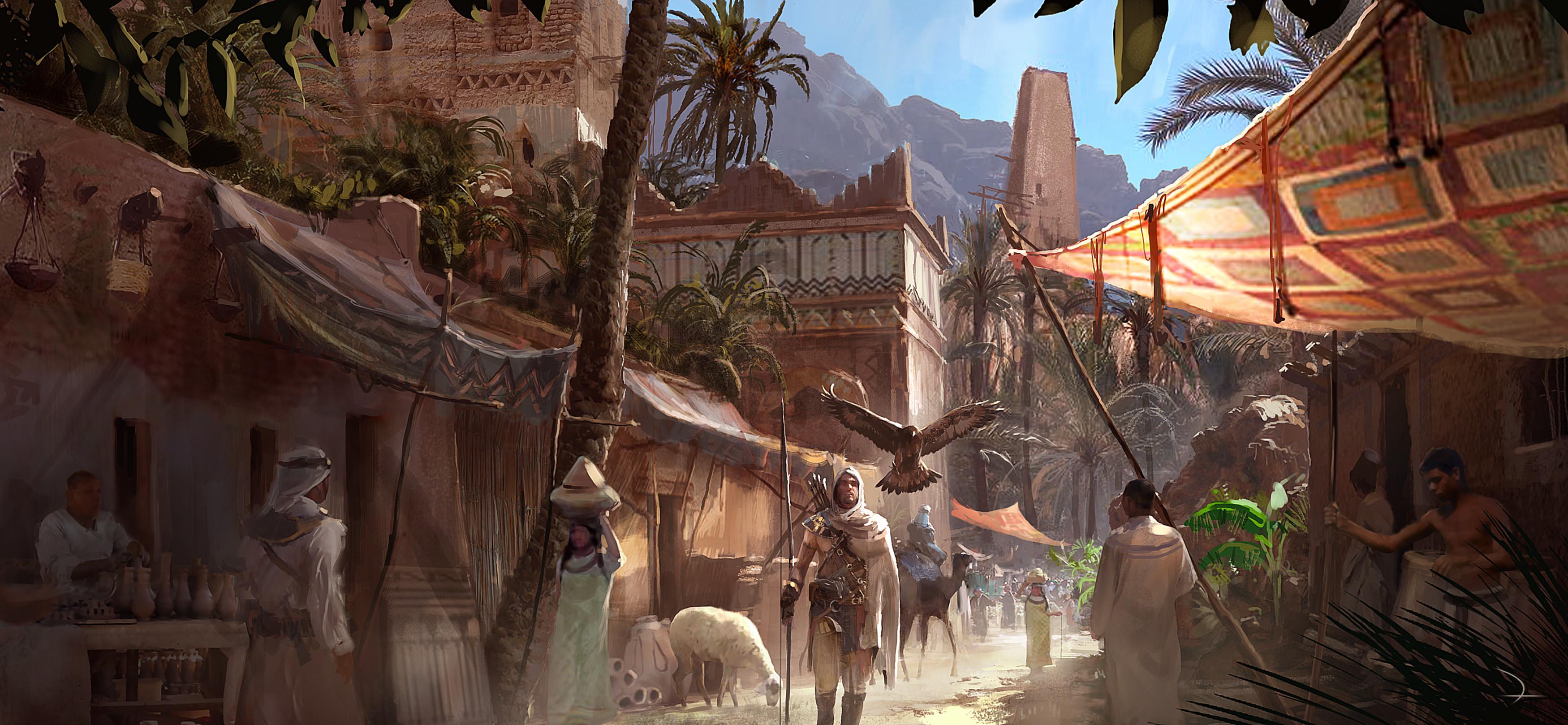 Assassins Creed Origins Wallpapers Wallpapertag
