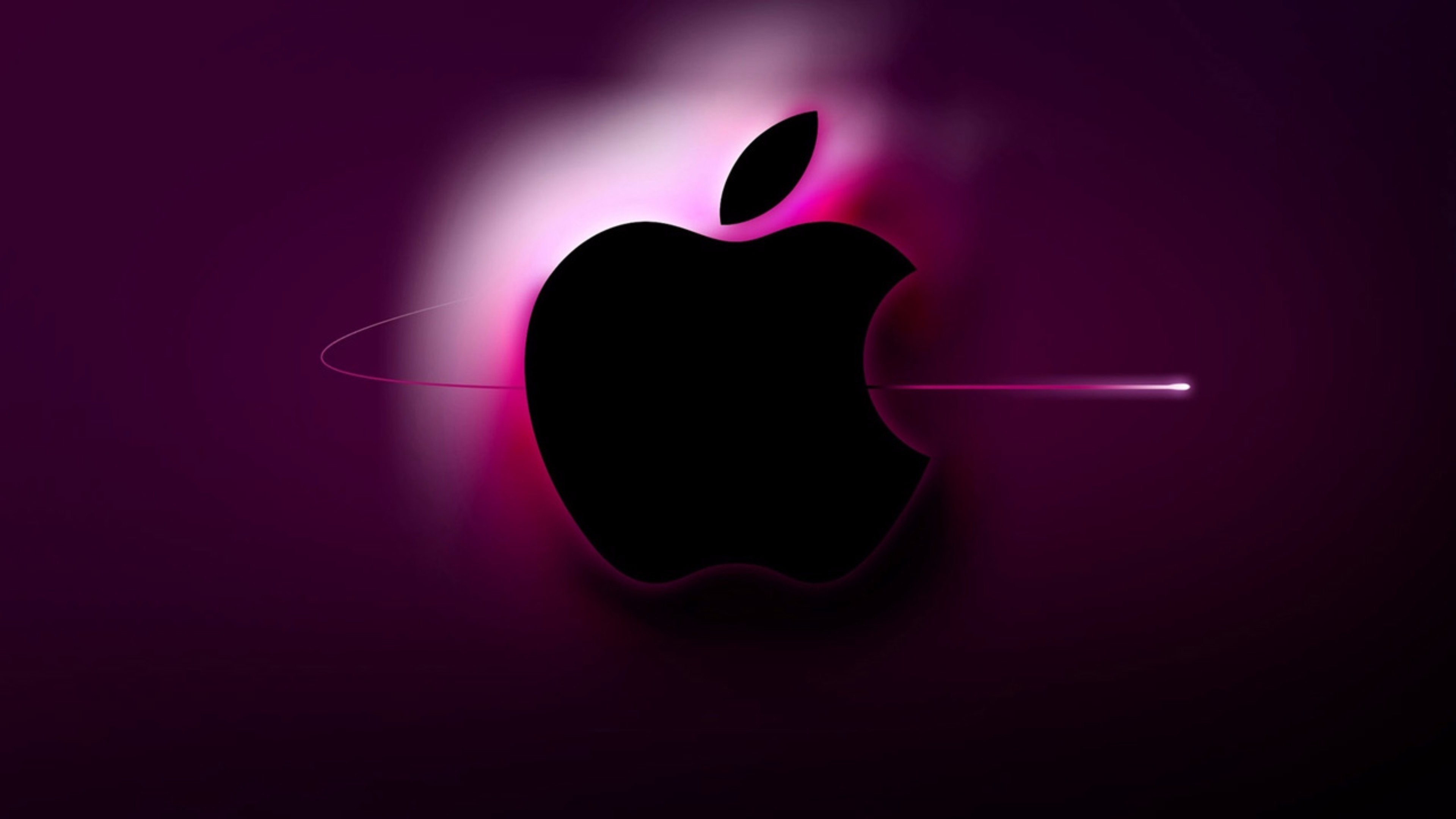 Purple Apple Wallpaper