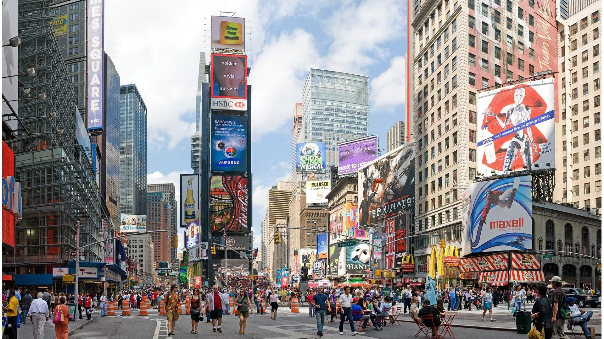 Times Square Wallpaper Wallpapertag
