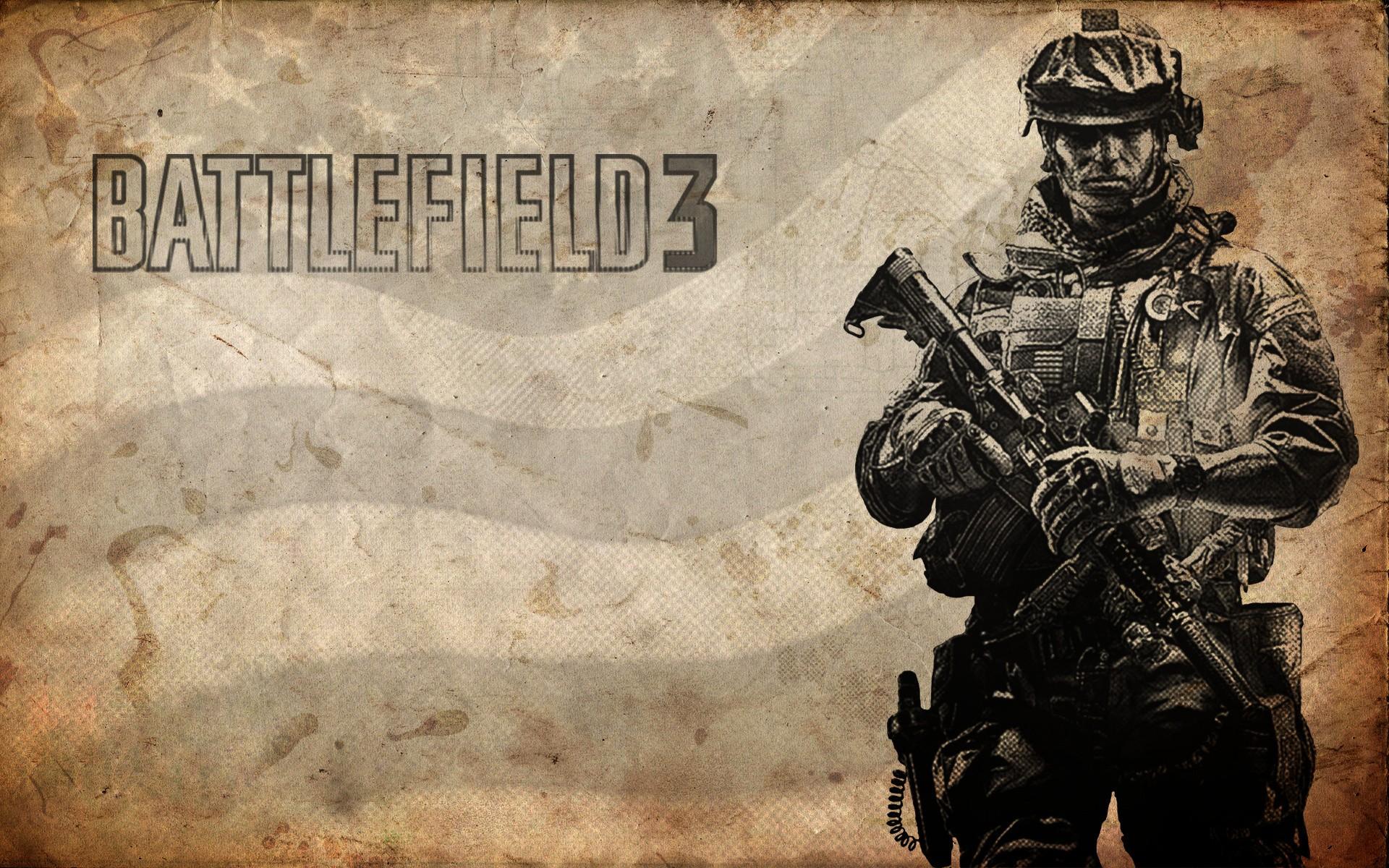 Battlefield 3 солдат линии оружие  № 3460703 бесплатно