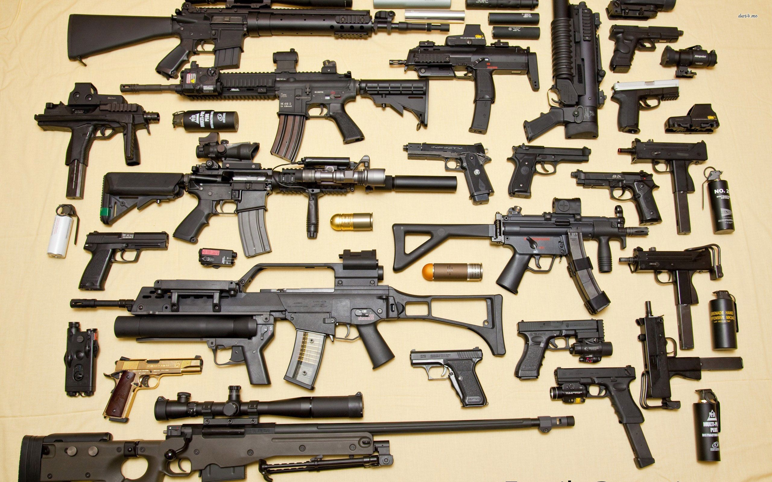 Huge Collections Of Mobile: 55+ Gun Wallpapers ·① Download Free High Resolution