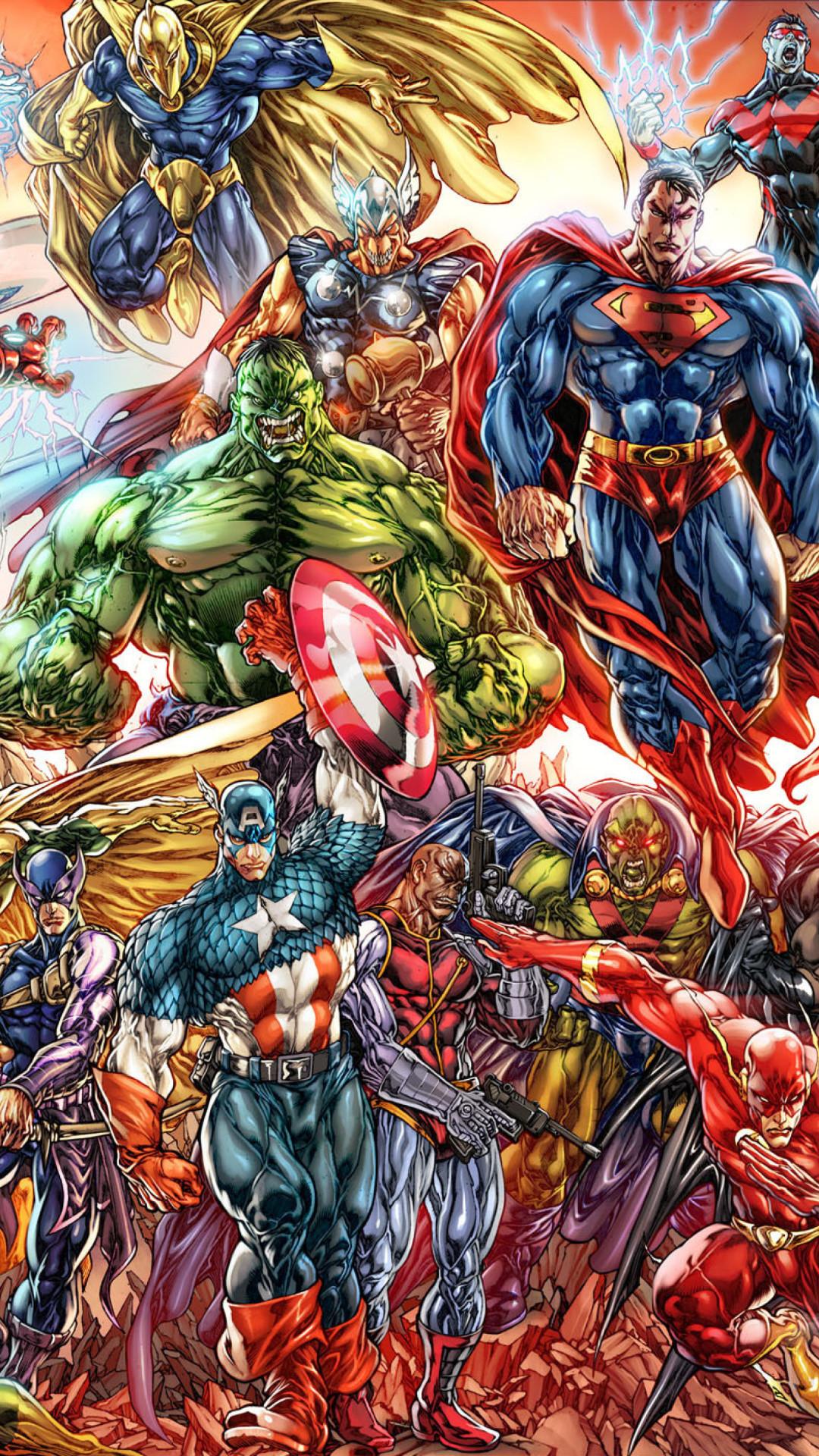 Marvel universe wallpaper wallpapertag - All marvel heroes wallpaper ...