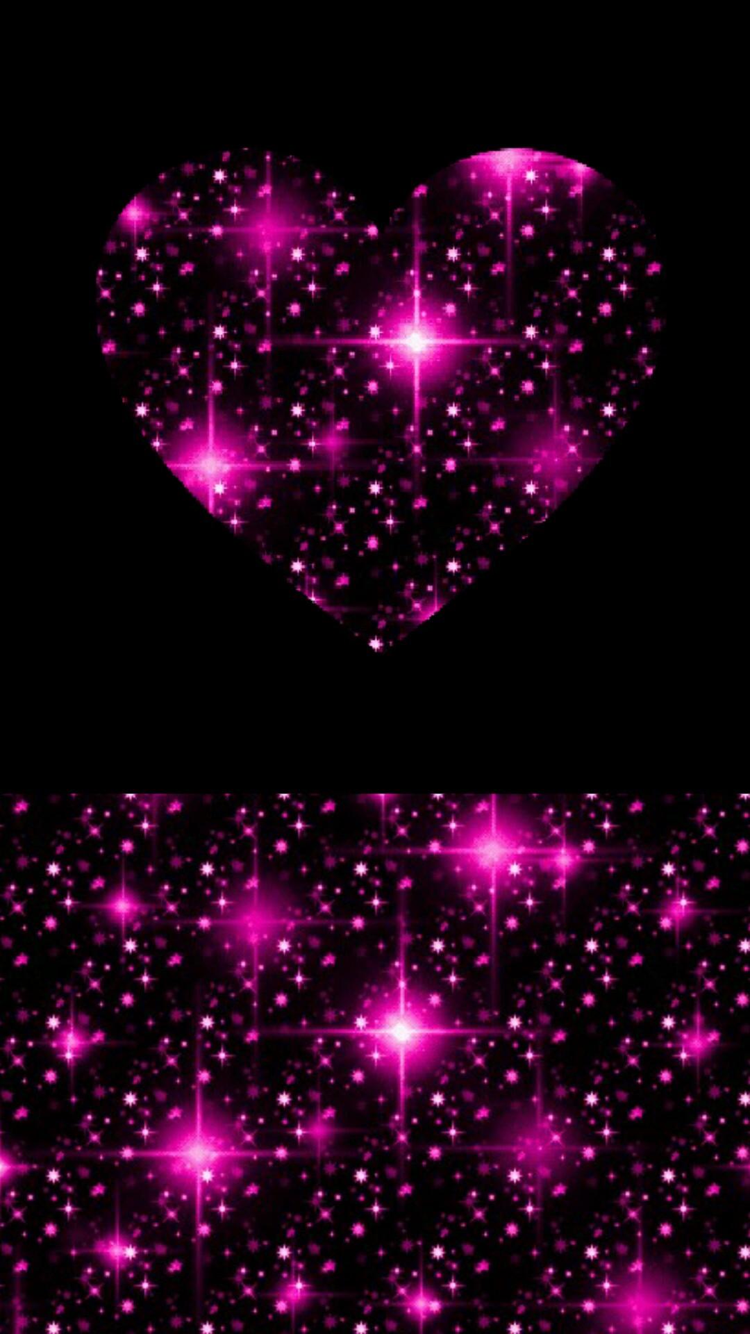 pink stars hearts wallpaper - photo #25