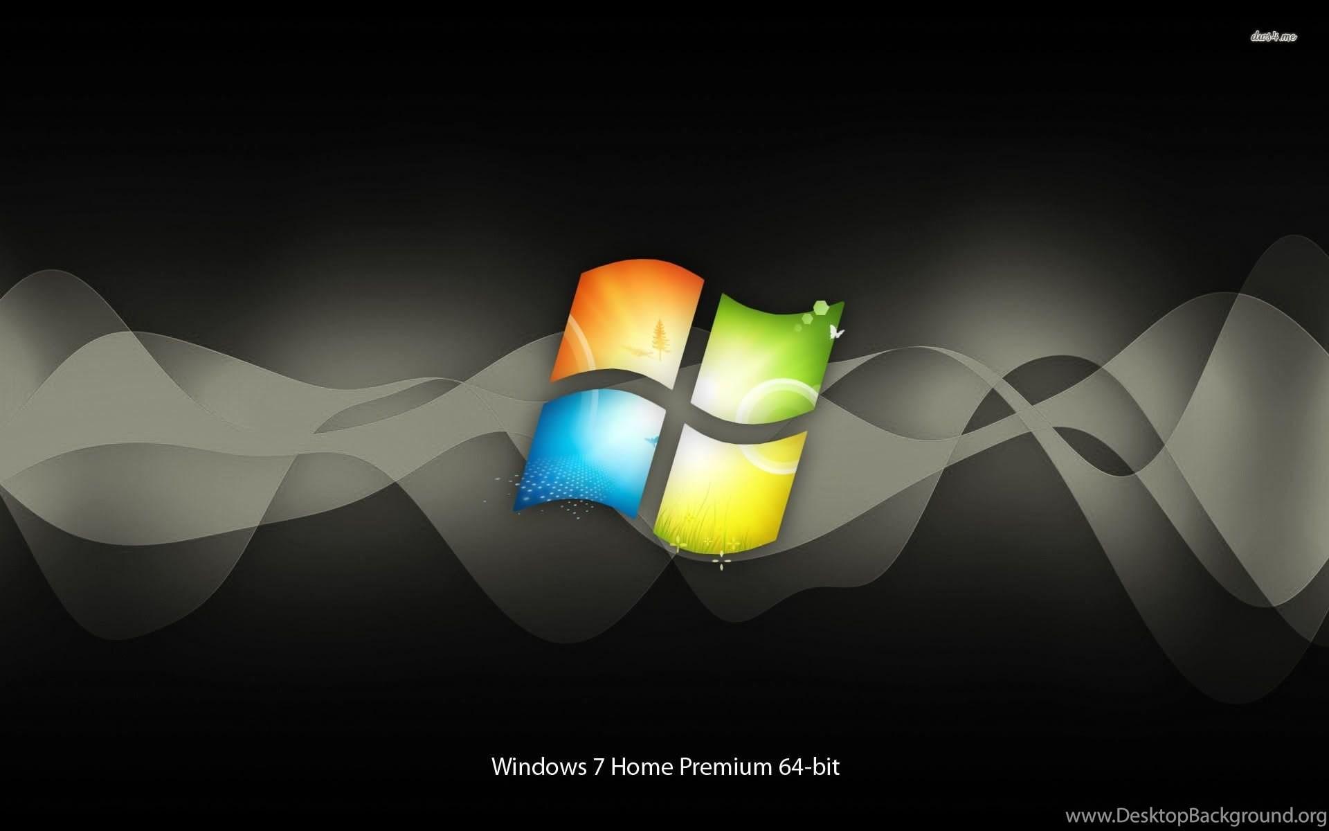 Windows 7 Home Premium Wallpaper ①