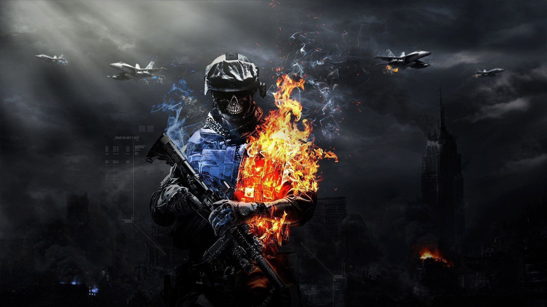 Cool fire and water backgrounds wallpapertag - Best war wallpapers hd ...