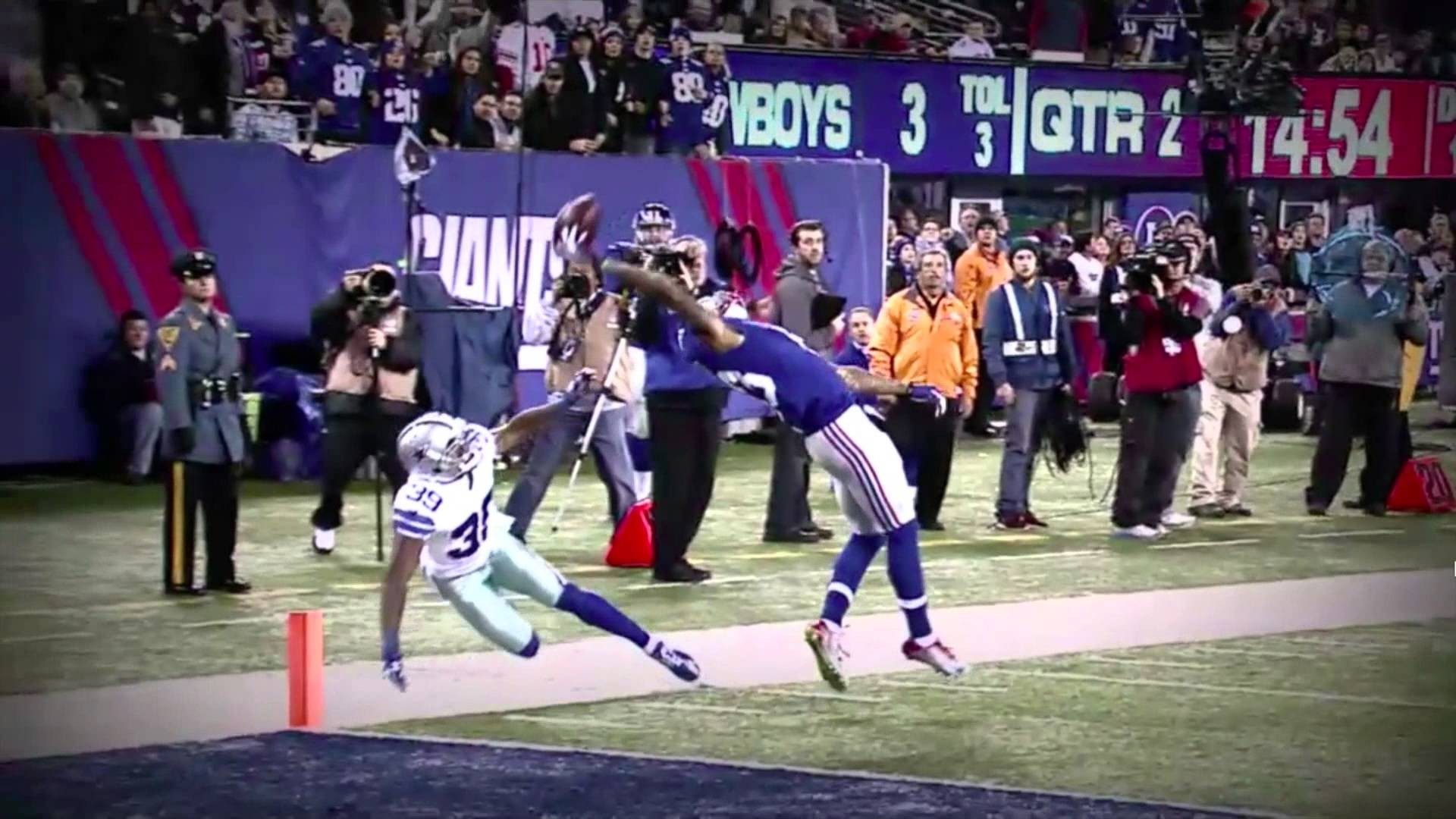7cdbbbe9 1920x1080 Odell Beckham Jr 's Touchdown Catch (NewYork Giants vs Dallas .