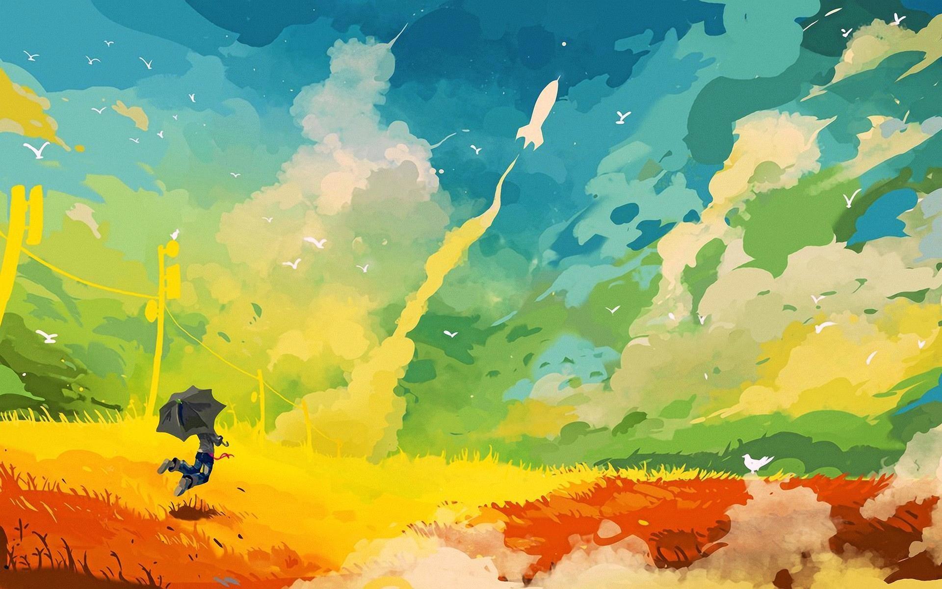 Colour Wallpaper ·①