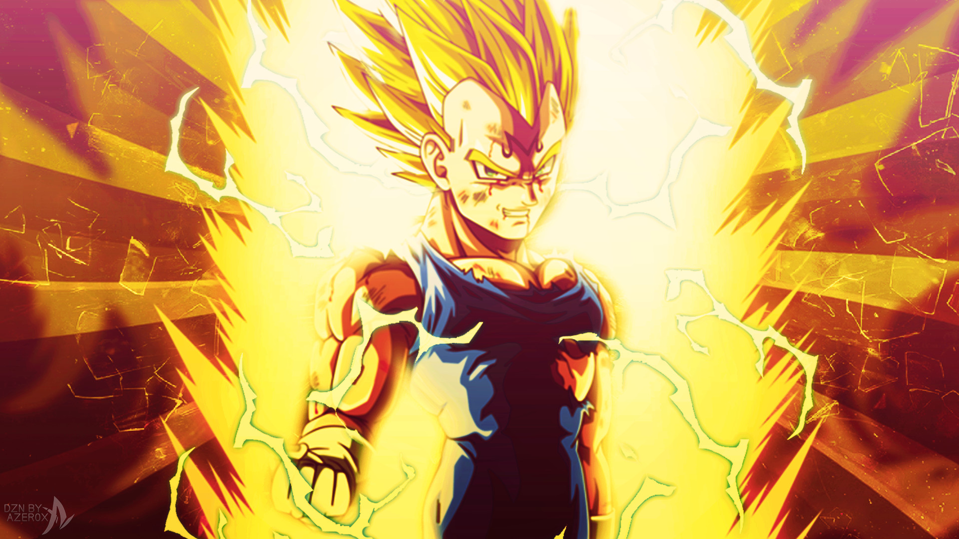 Majin vegeta wallpapers wallpapertag - Dragon ball z majin vegeta wallpaper ...