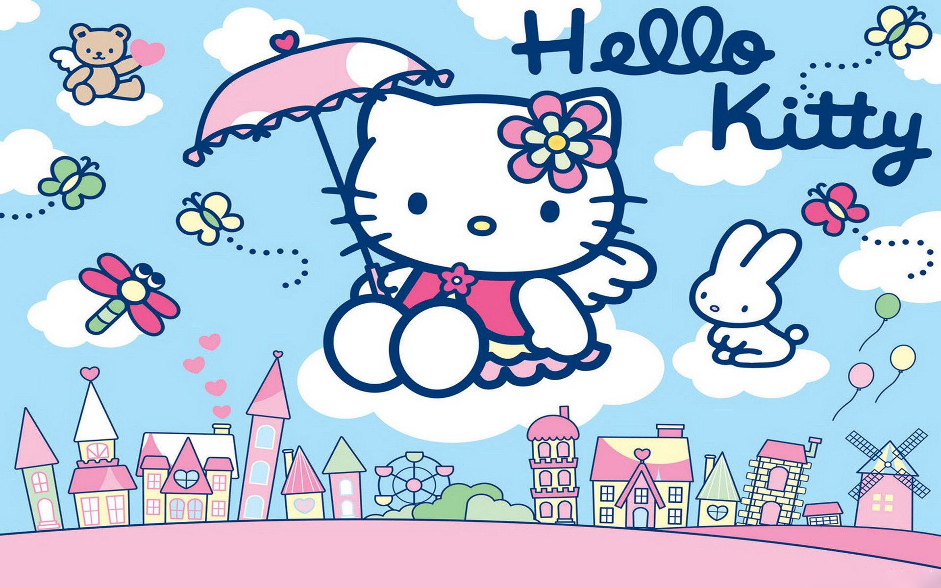 Hello Kitty Backgrounds For Laptops ·â'  WallpaperTag
