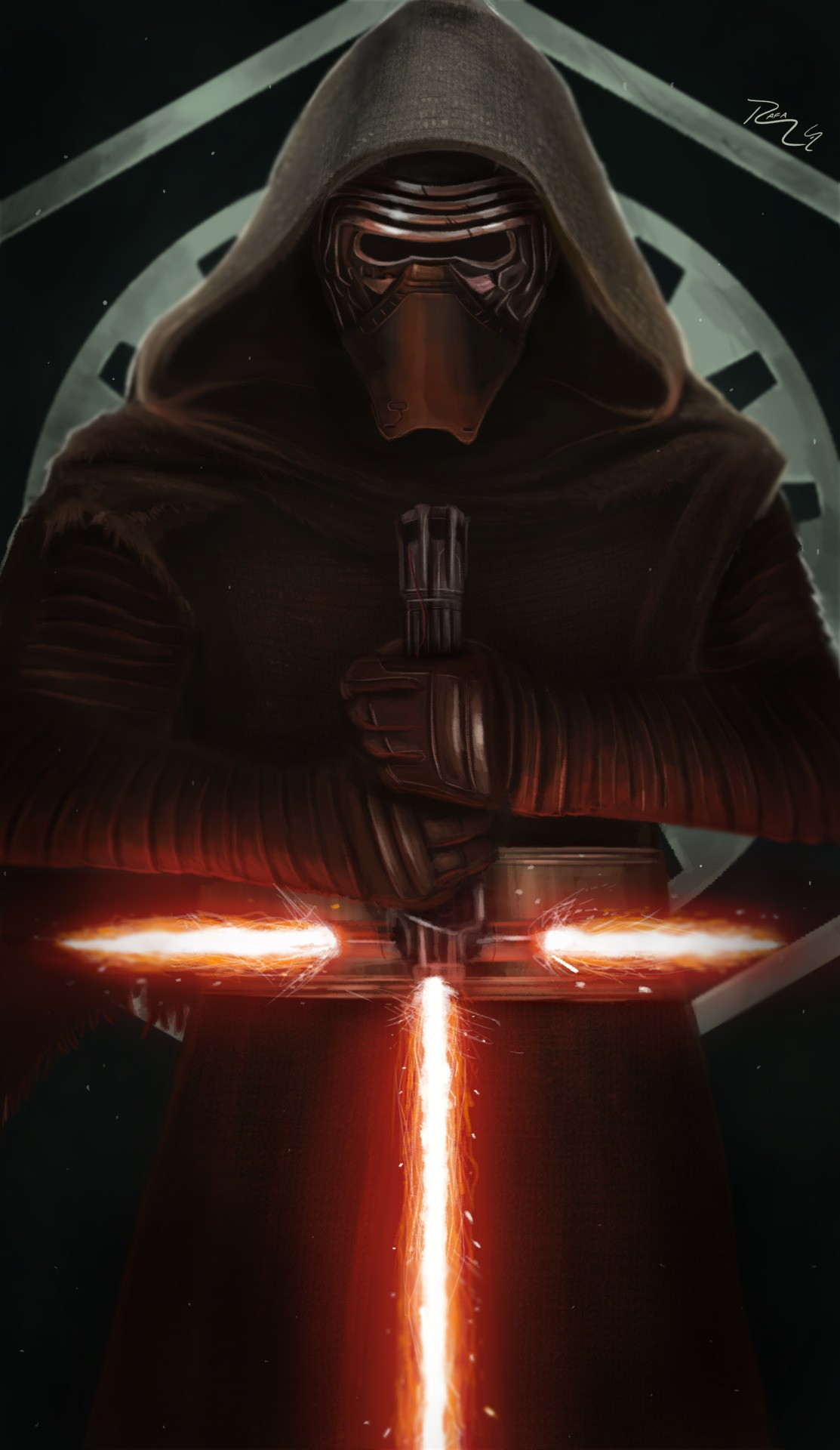 Kylo Ren background ·① Download free cool wallpapers for ...