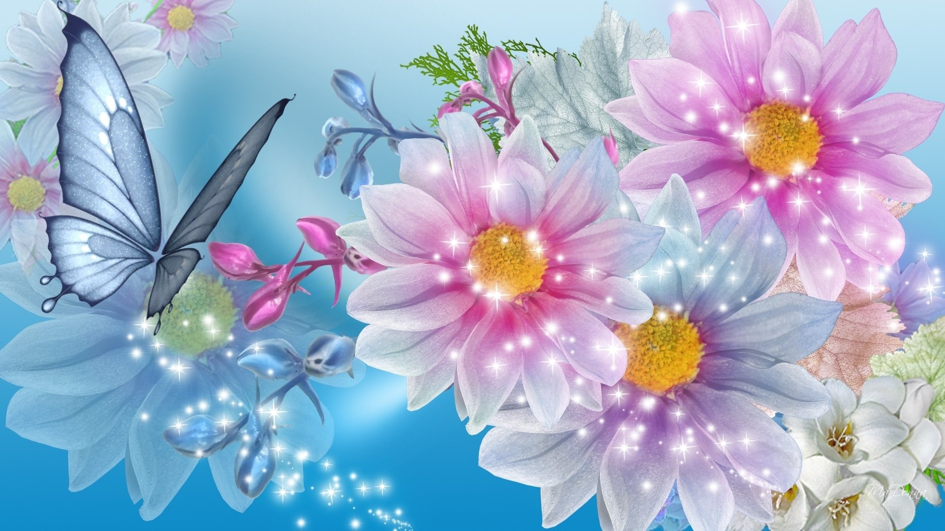 Pretty flower background pretty backgrounds 17128 mightylinksfo