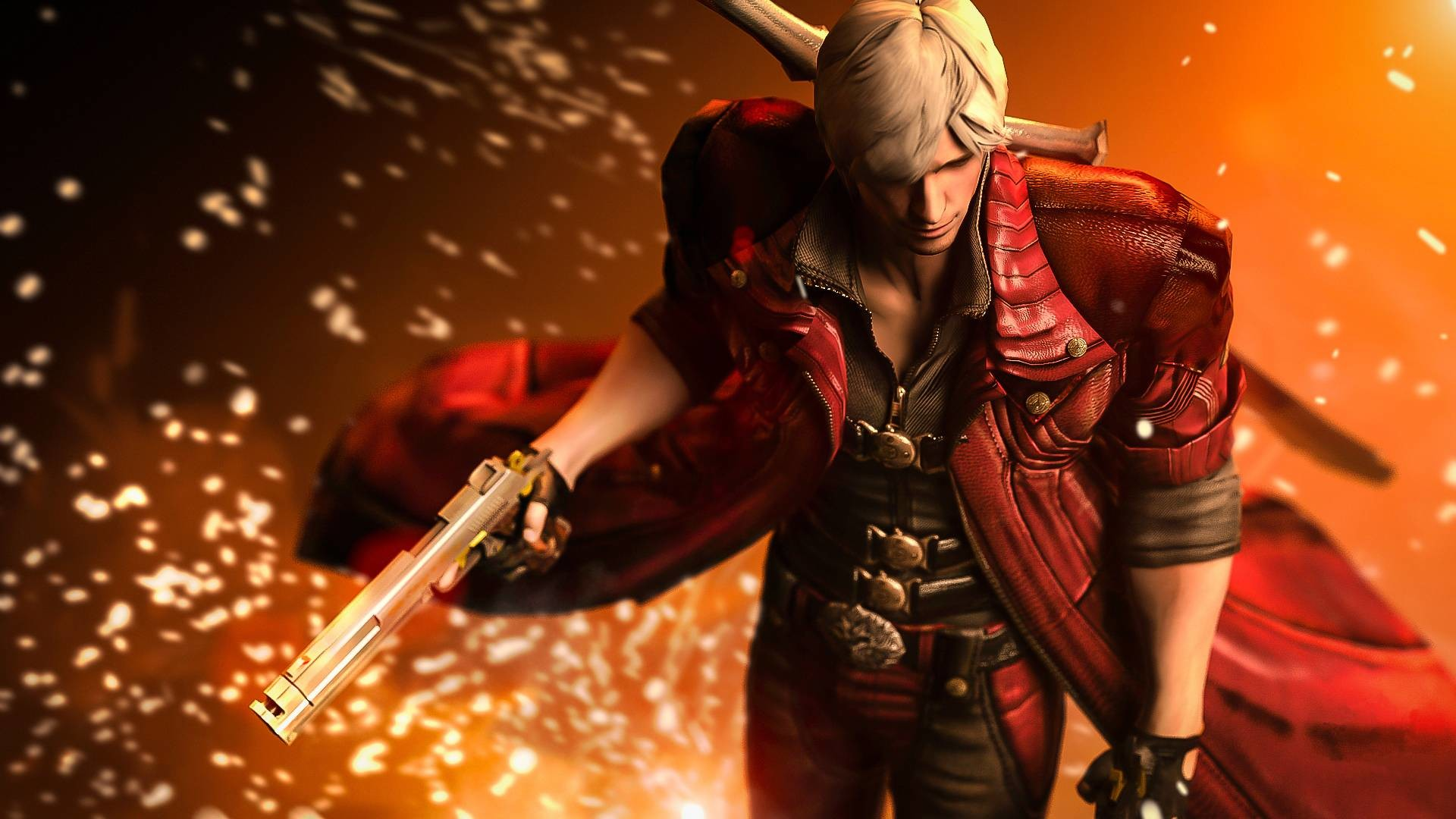 Dante Devil May Cry Wallpaper Wallpapertag