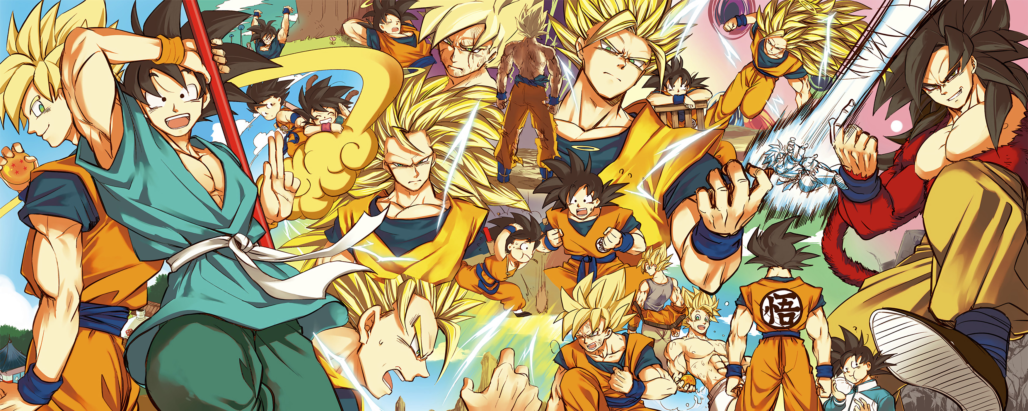 Goku Super Saiyan 3 Wallpapers ·① WallpaperTag