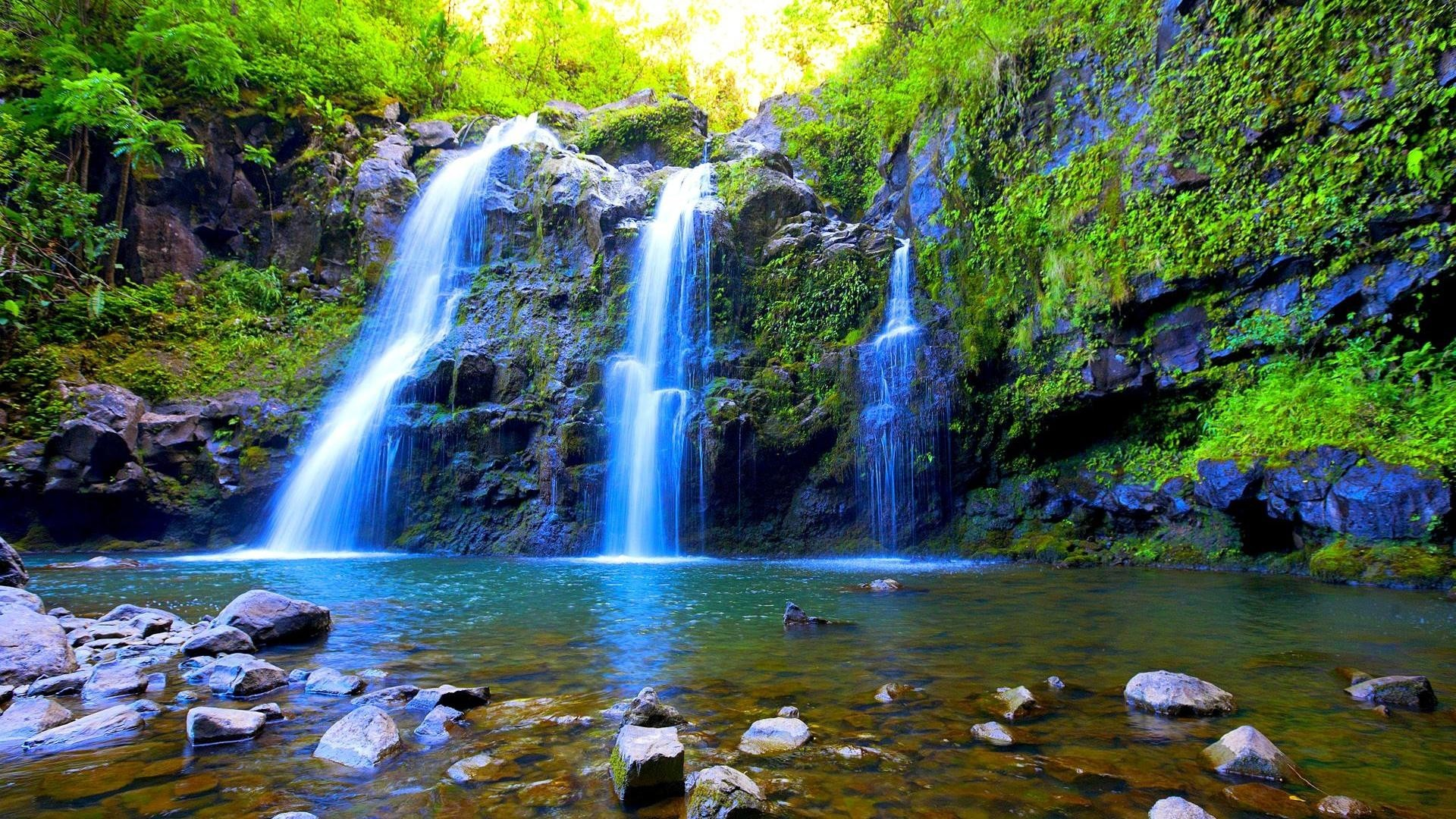 1920x1080 Hd Wallpapers Waterfall: Waterfall Desktop Backgrounds ·① WallpaperTag