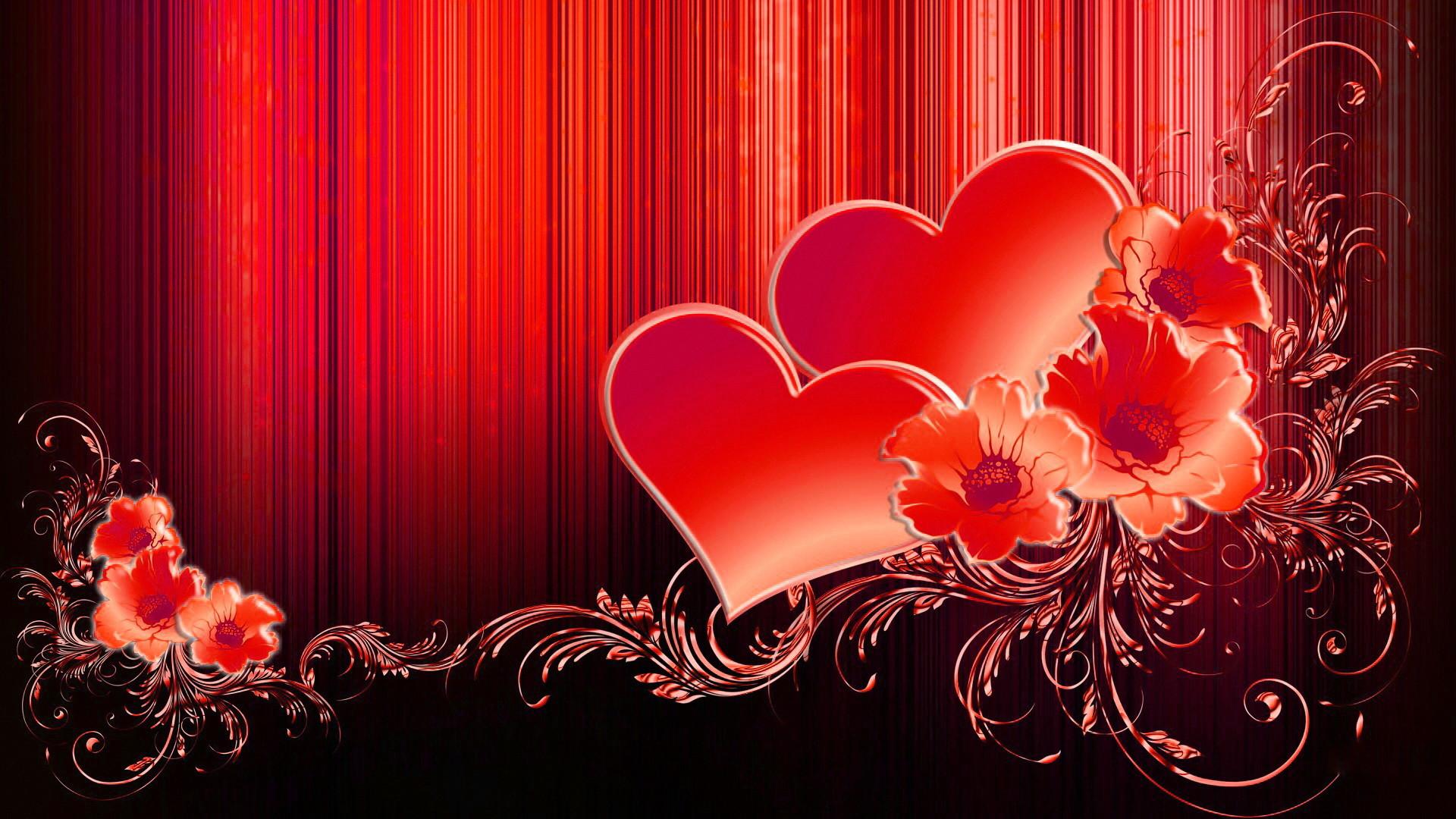 Love Heart Wallpaper Hd Wallpapertag: Valentine Hearts Wallpaper ·① WallpaperTag