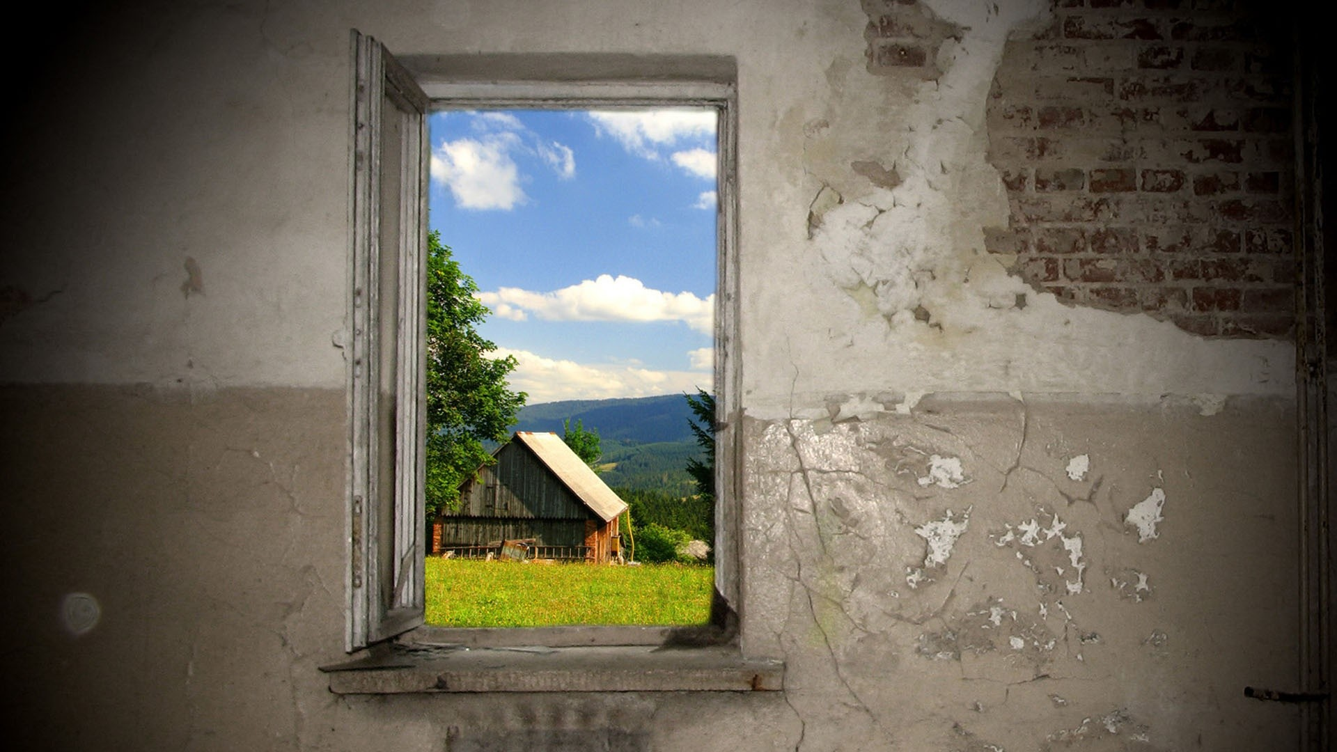 Window wallpaper download free stunning hd wallpapers for Window 3d wallpaper