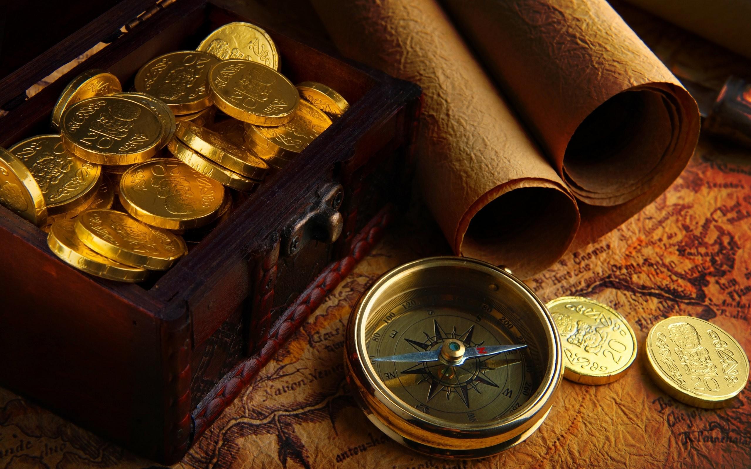 Gold Coins Wallpaper 44249