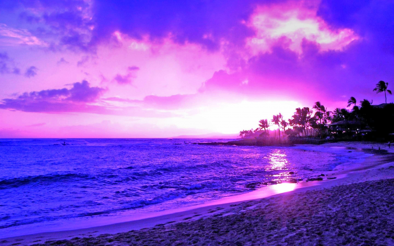 Картинки фиолетовый закат, добрым днем хорошим