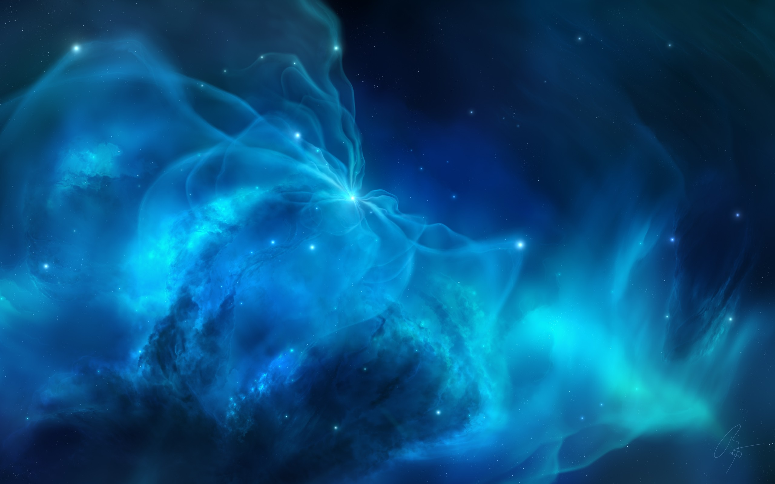 Blue space wallpaper download free amazing wallpapers for Paesaggi bellissimi per desktop