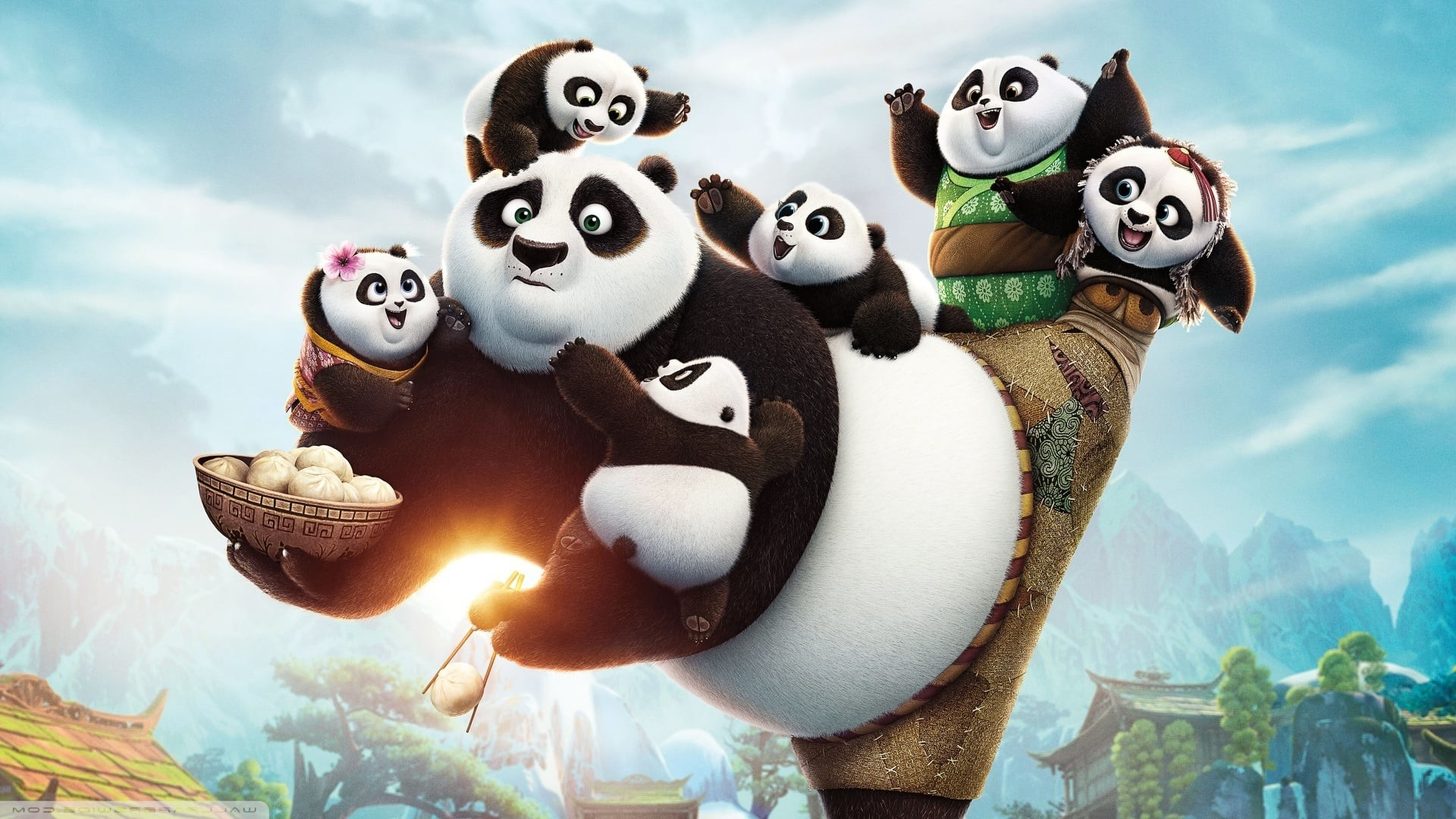 Kung Fu Panda 3 Wallpapers Wallpapertag