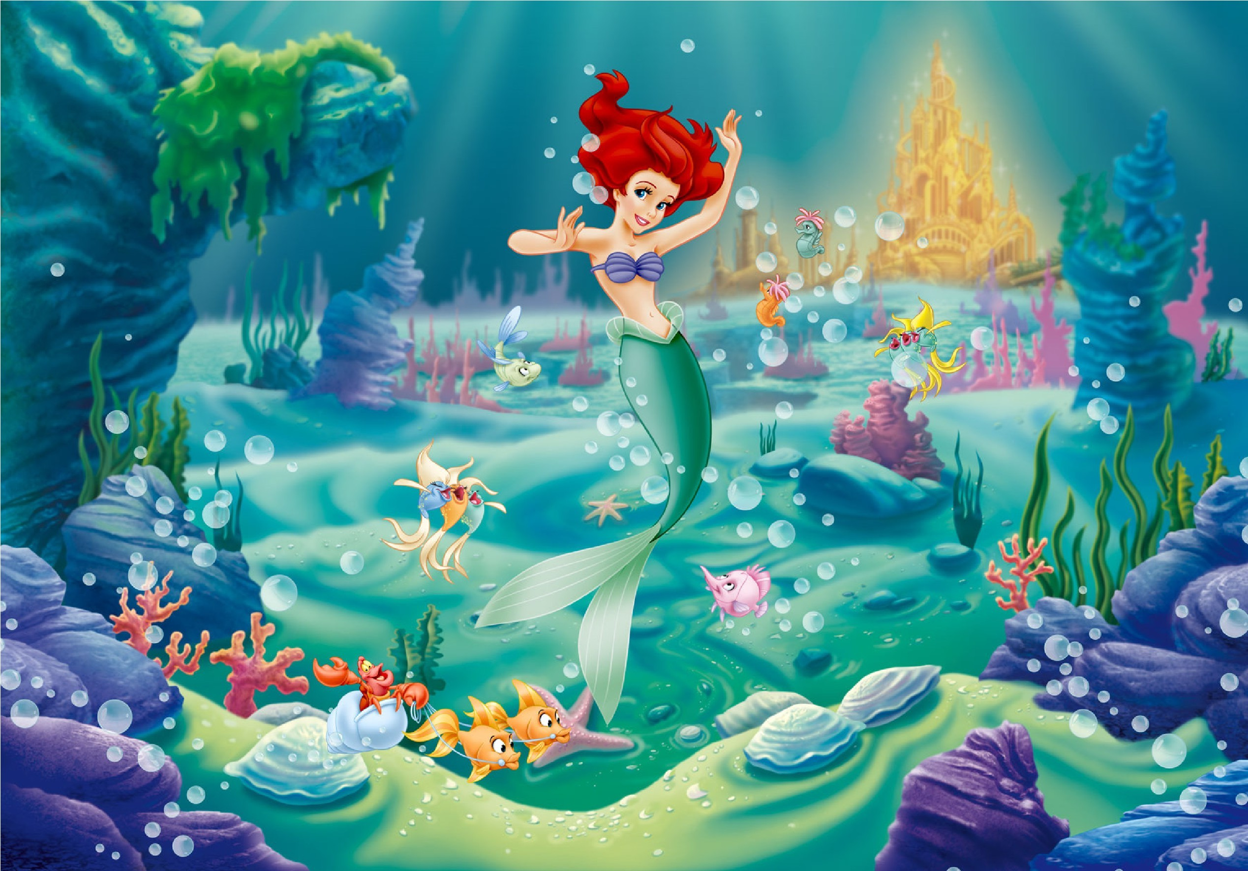 Little Mermaid Wallpaper Download Free Cool Hd Wallpapers For