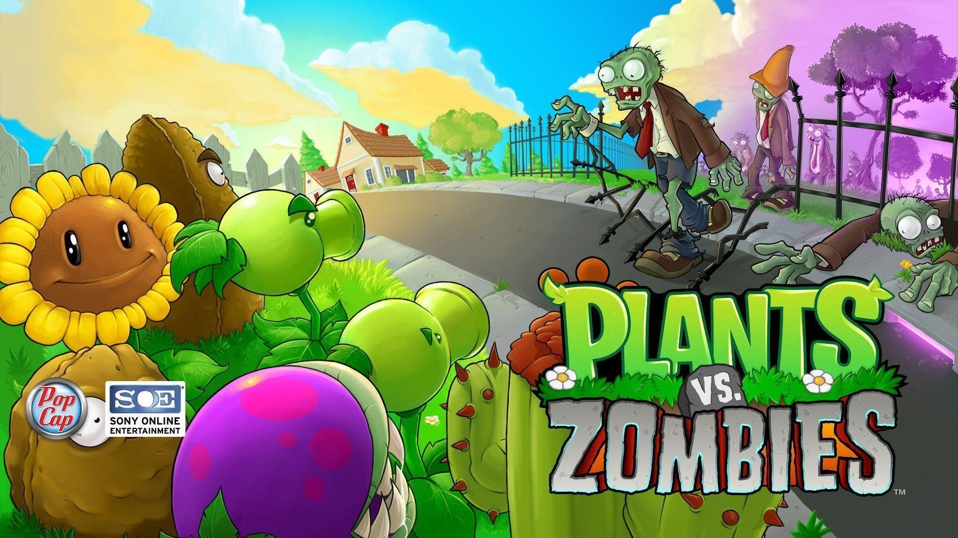 Plants Vs Zombies Wallpaper ①