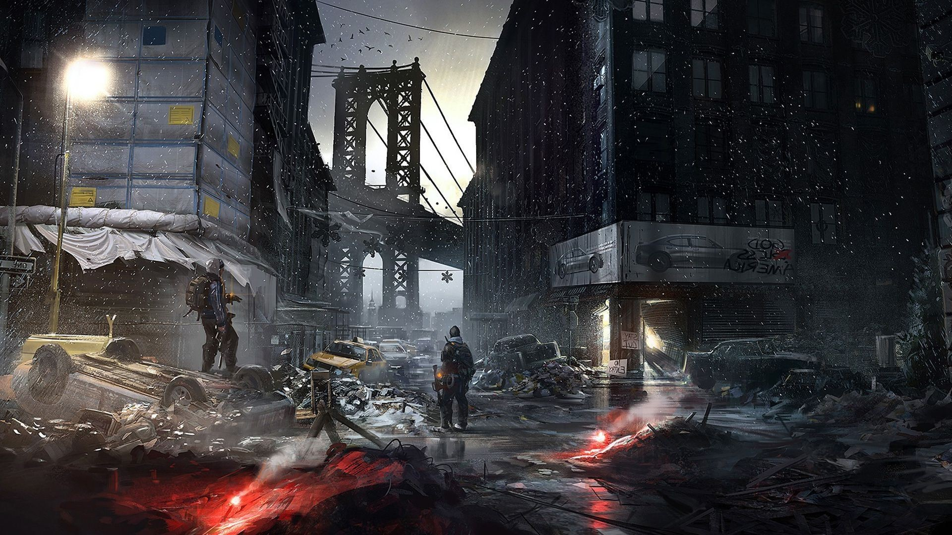 1920x1080 Tom Clancys The Division Game Hd Wallpaper 1920A Download