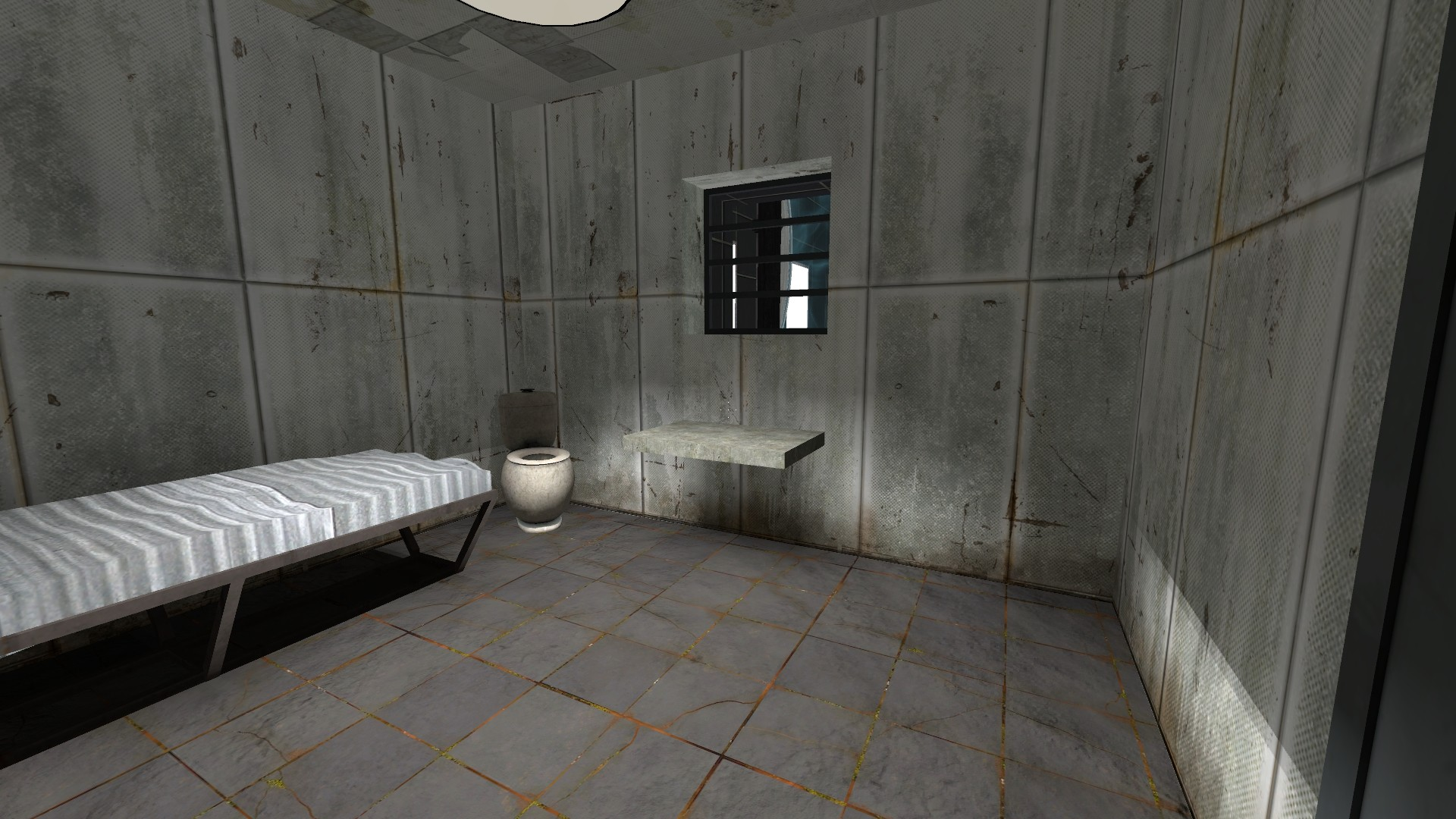 how to build a jail cell