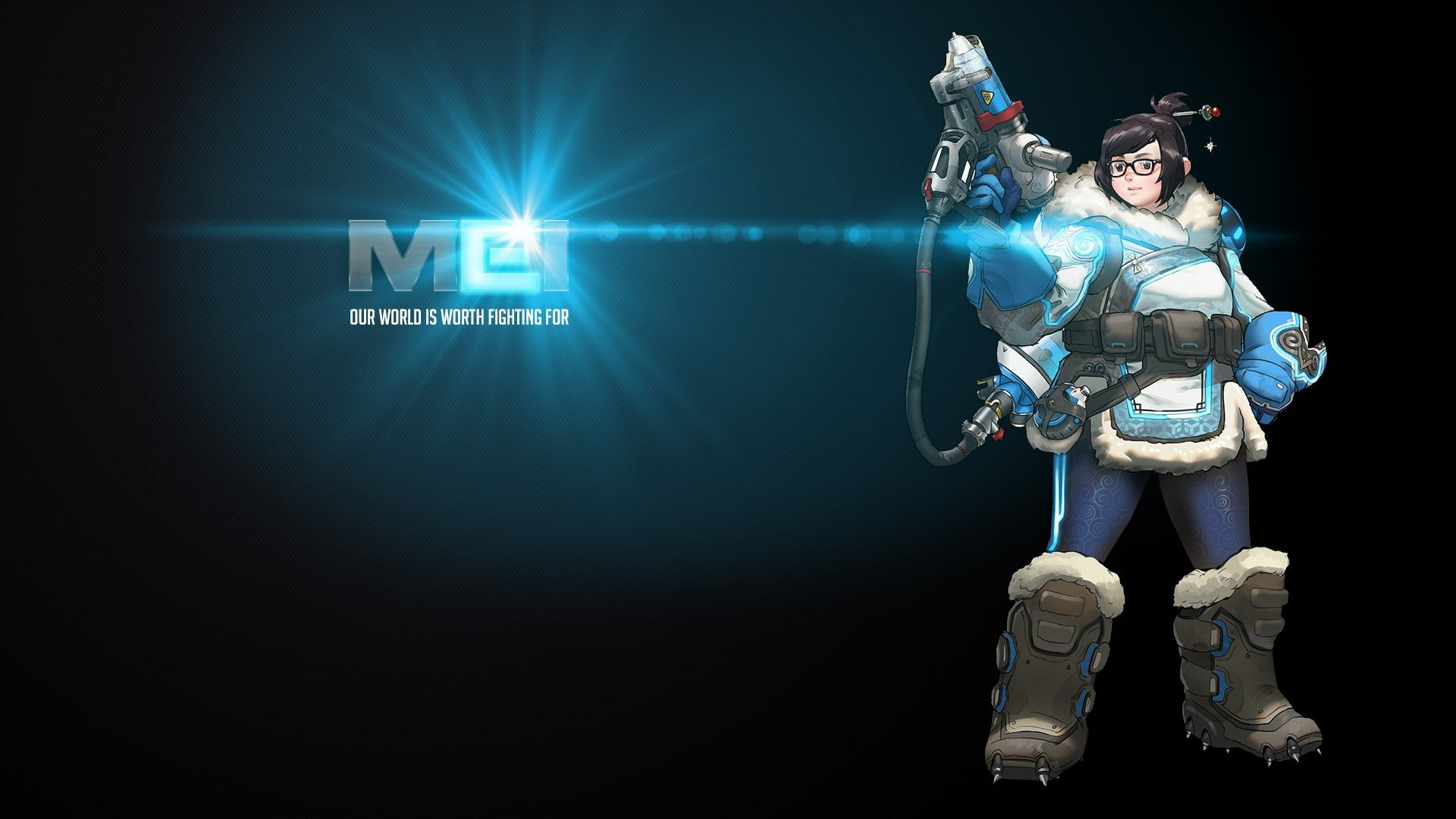 Overwatch Mei Wallpaper ① Download Free Wallpapers For Desktop And