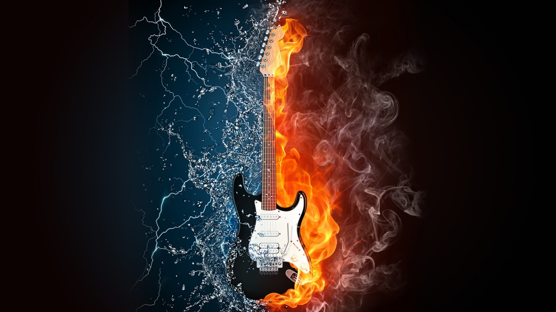 Cool Fire And Water Backgrounds Wallpapertag