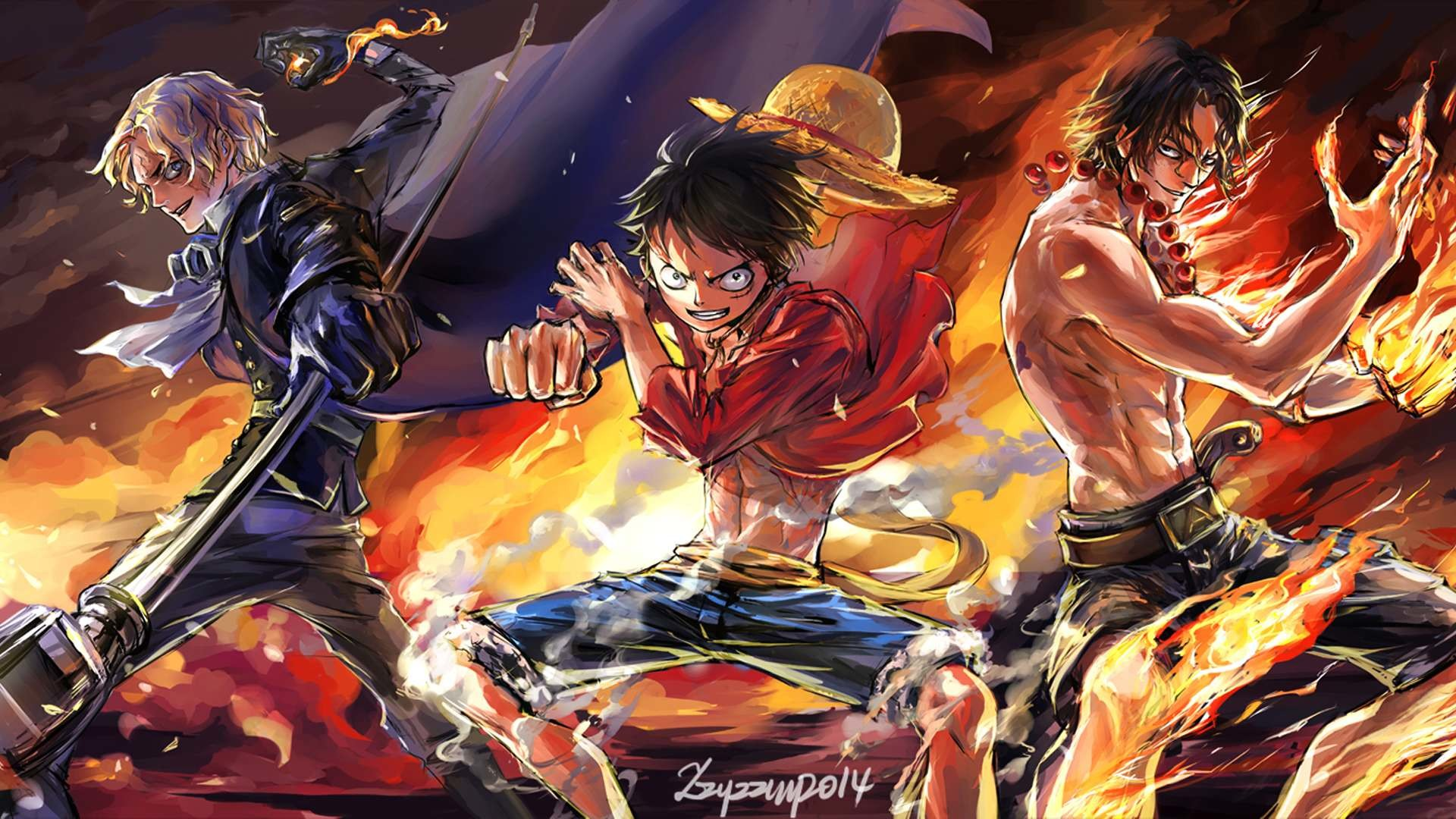1920x1080 one piece desktop background hd