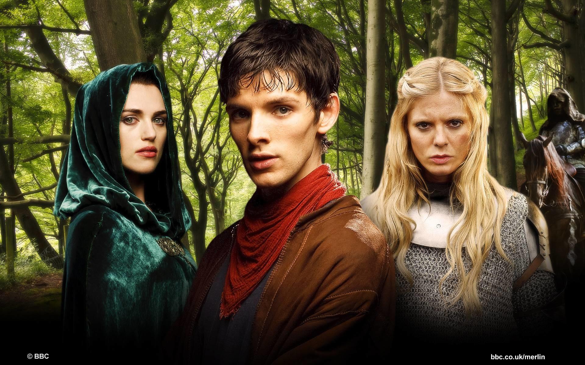 something like that Merlin Morgana and Skye