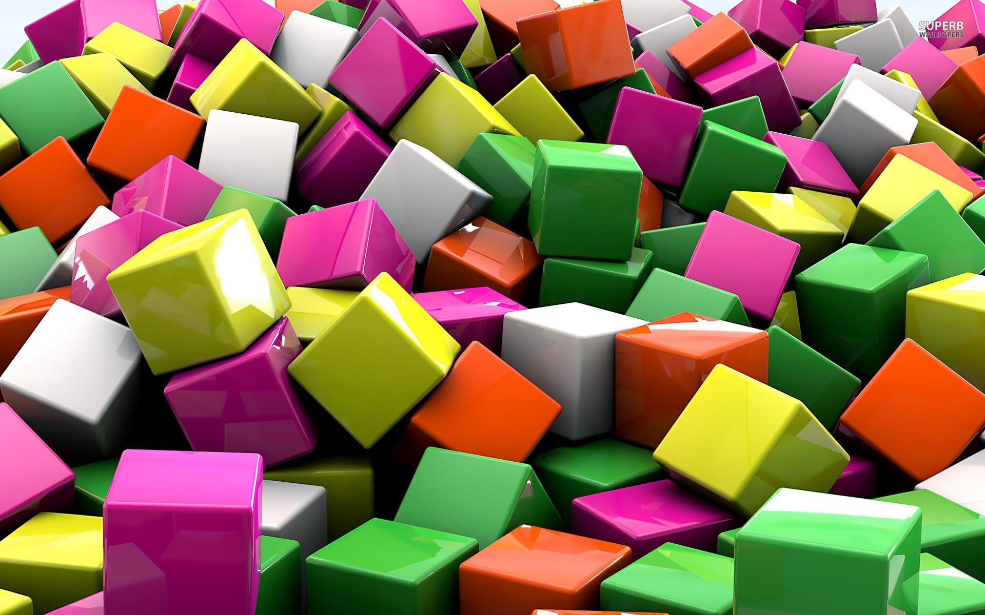 Colorful 3D Wallpapers 1