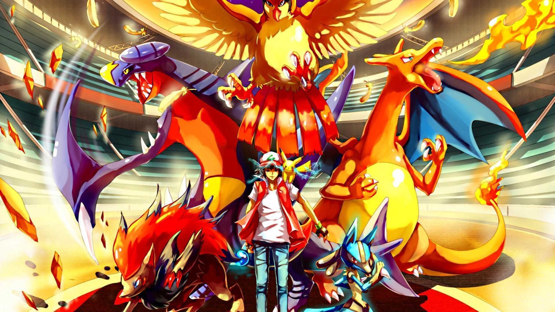 Red Pokemon Wallpaper Wallpapertag