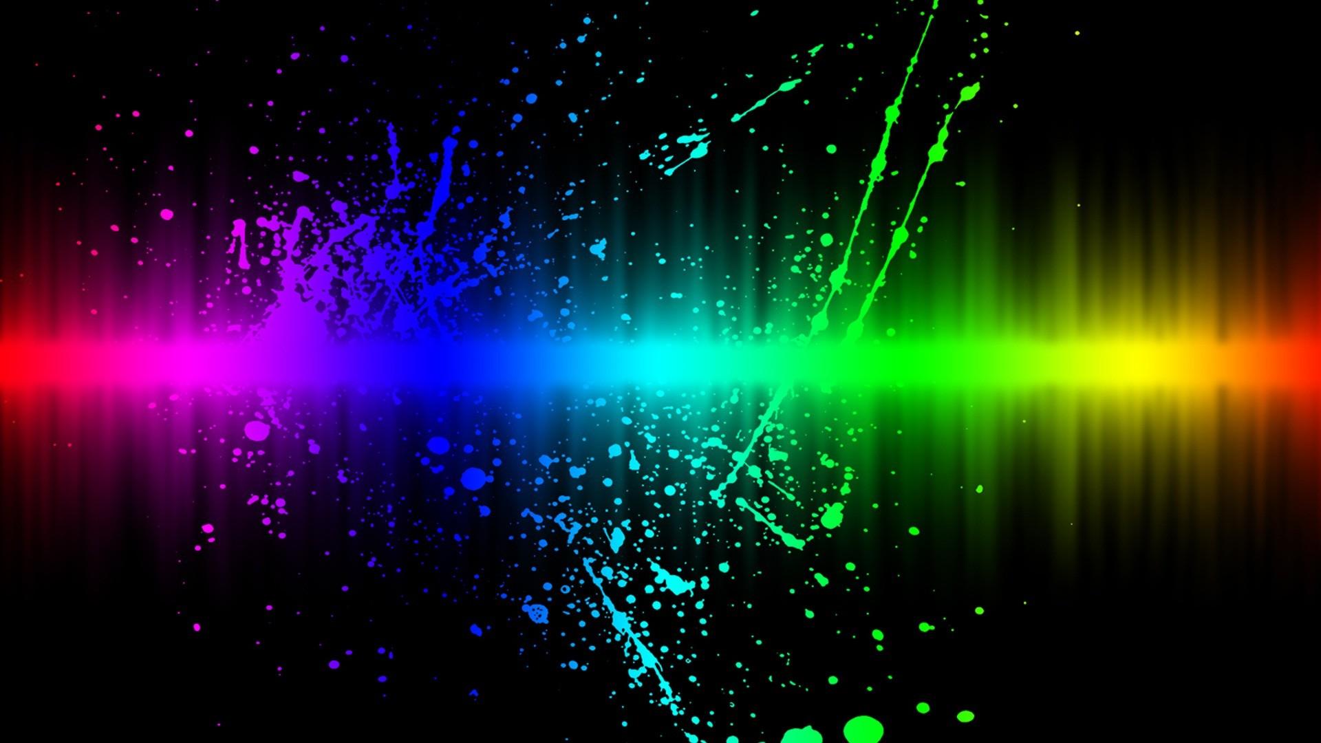 neon light wallpaper ·①