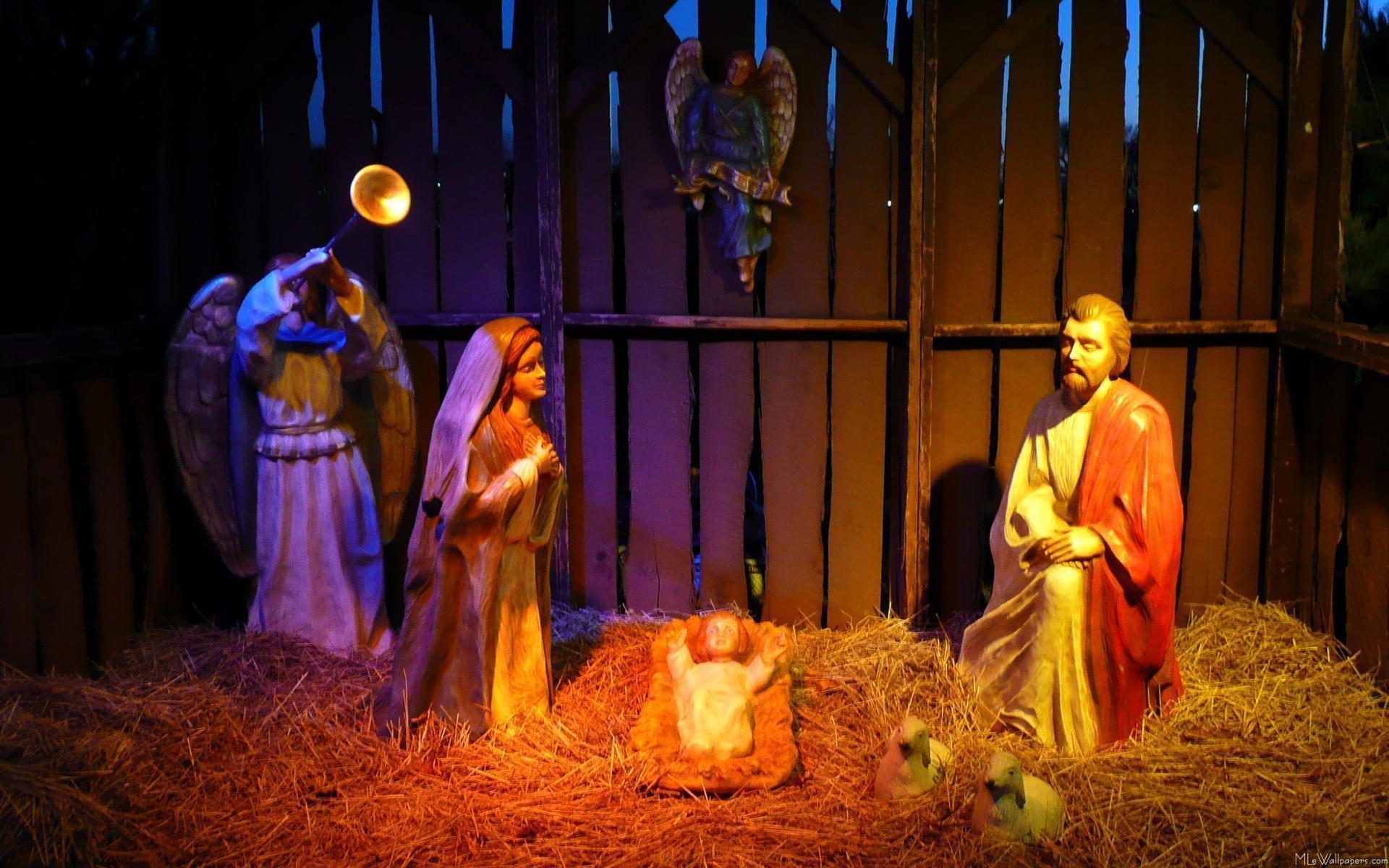 Christmas Nativity Backgrounds 1