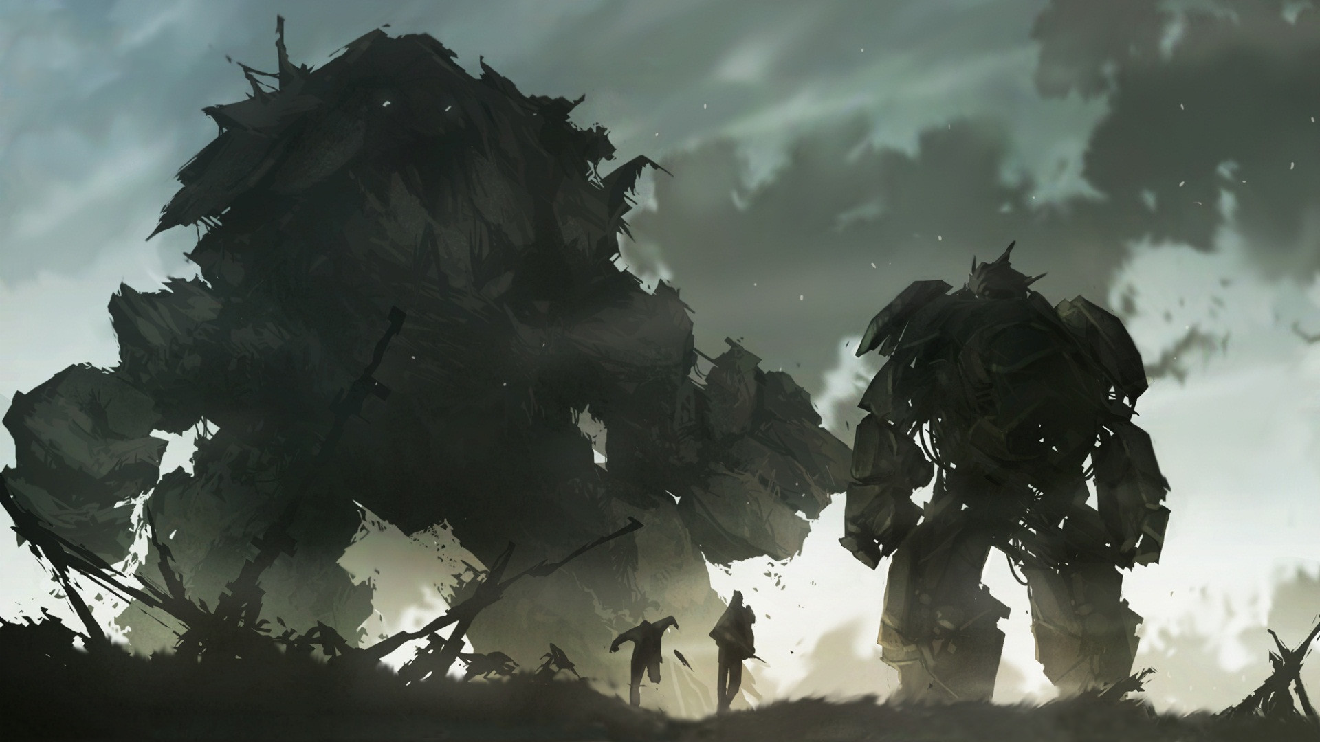 Shadow Of The Colossus Wallpapers Wallpapertag