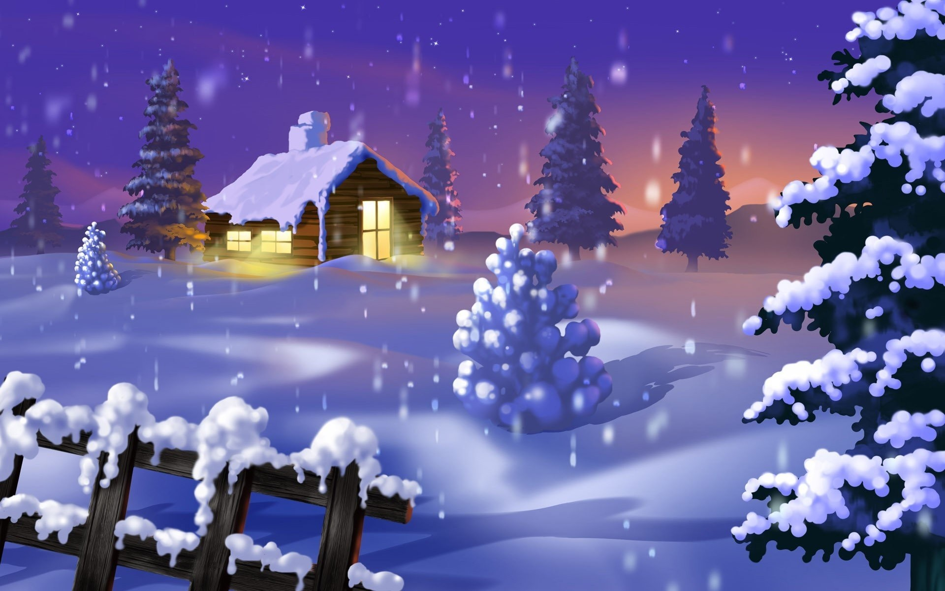 Winter Christmas Backgrounds: Winter Christmas Desktop Backgrounds ·① WallpaperTag