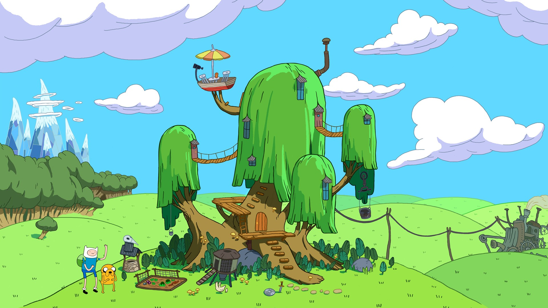 1920x1080 310 Adventure Time HD Wallpapers | Backgrounds - Wallpaper Abyss - Page 3