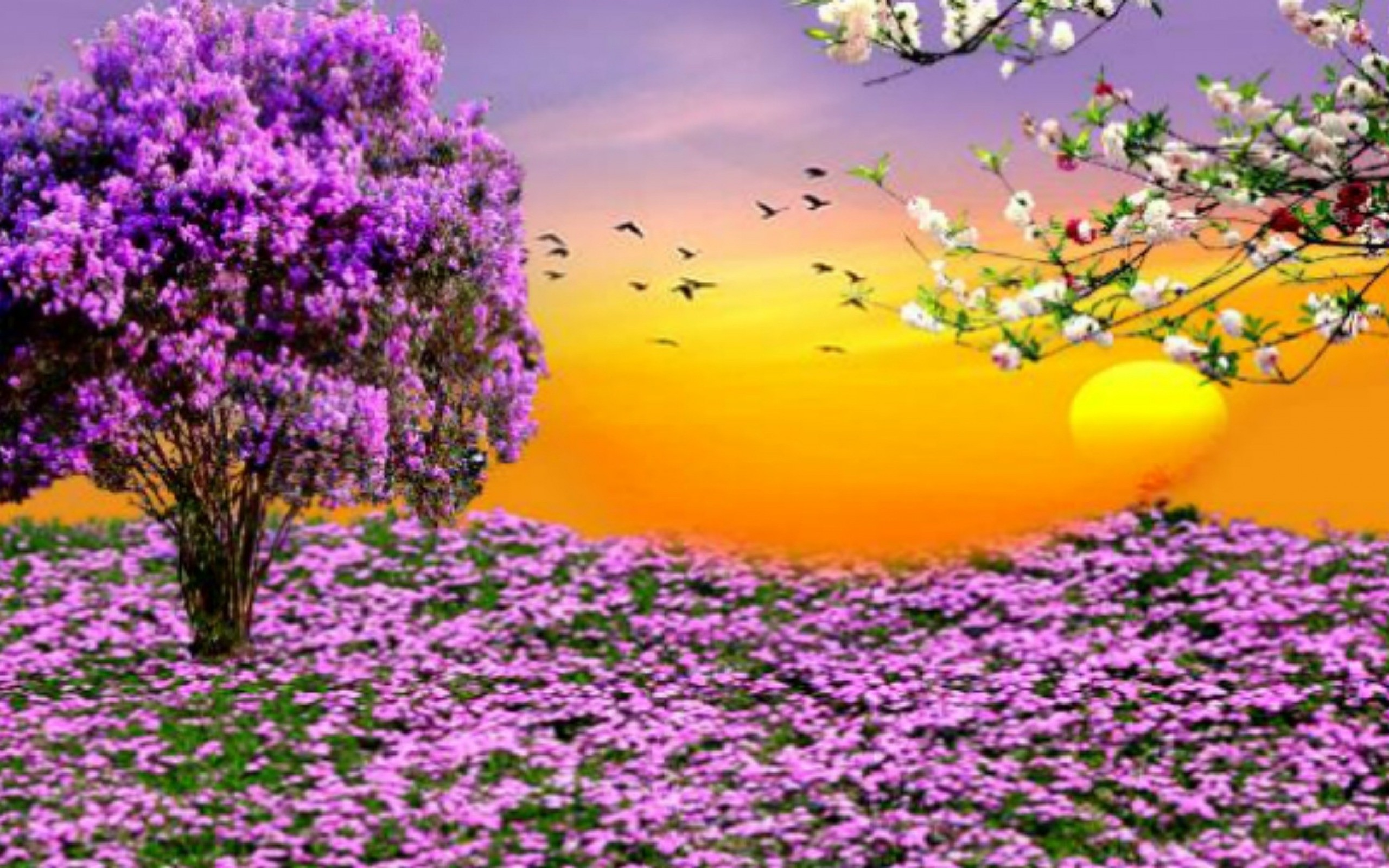 Desktop Wallpaper Spring Scenes ·① WallpaperTag