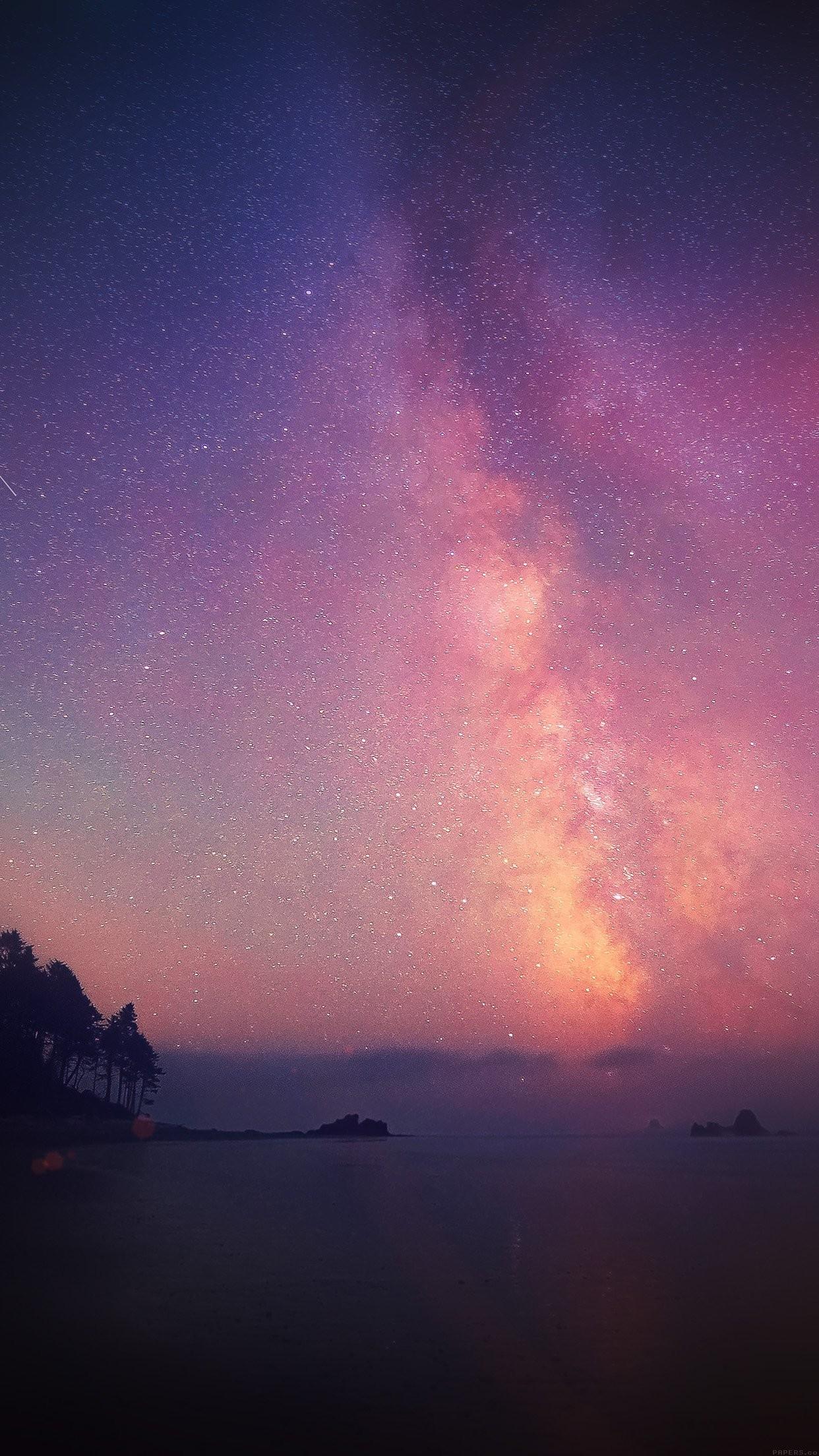 Night Sky Stars Wallpaper