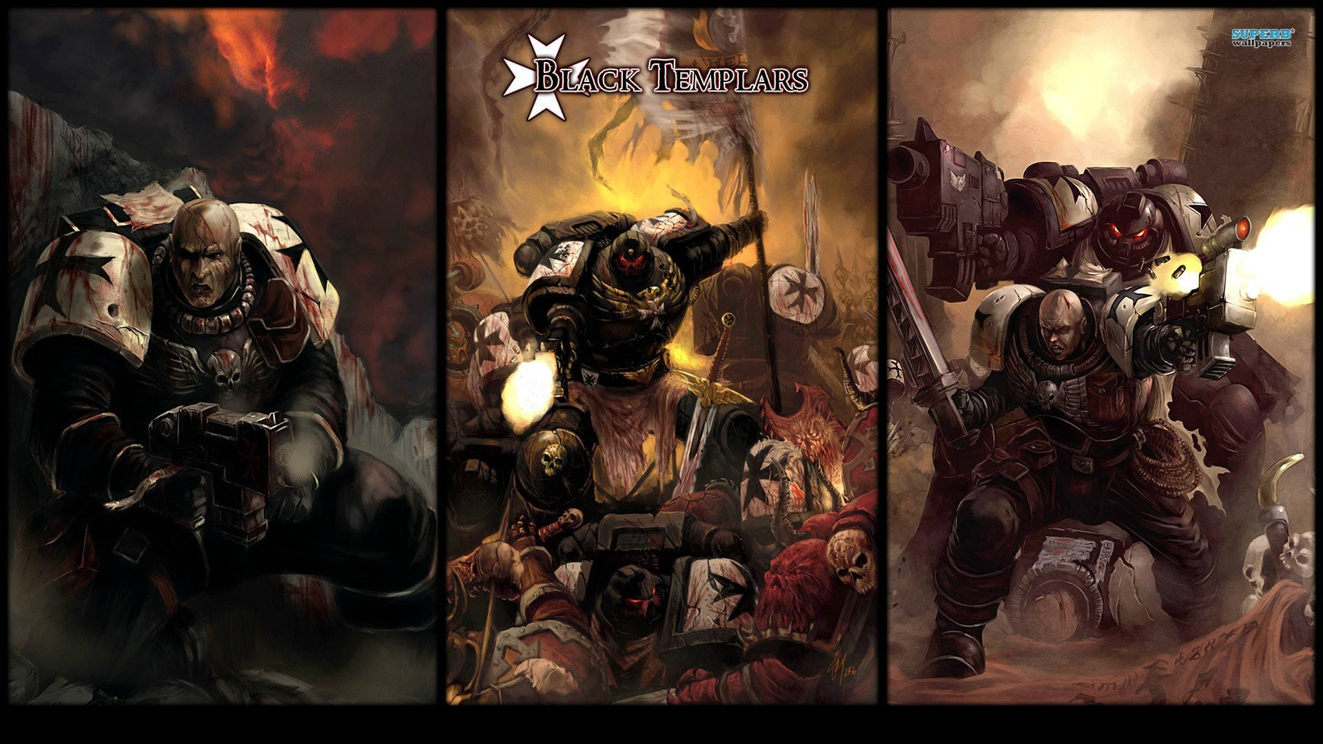 Black Templar Wallpaper Wallpapertag