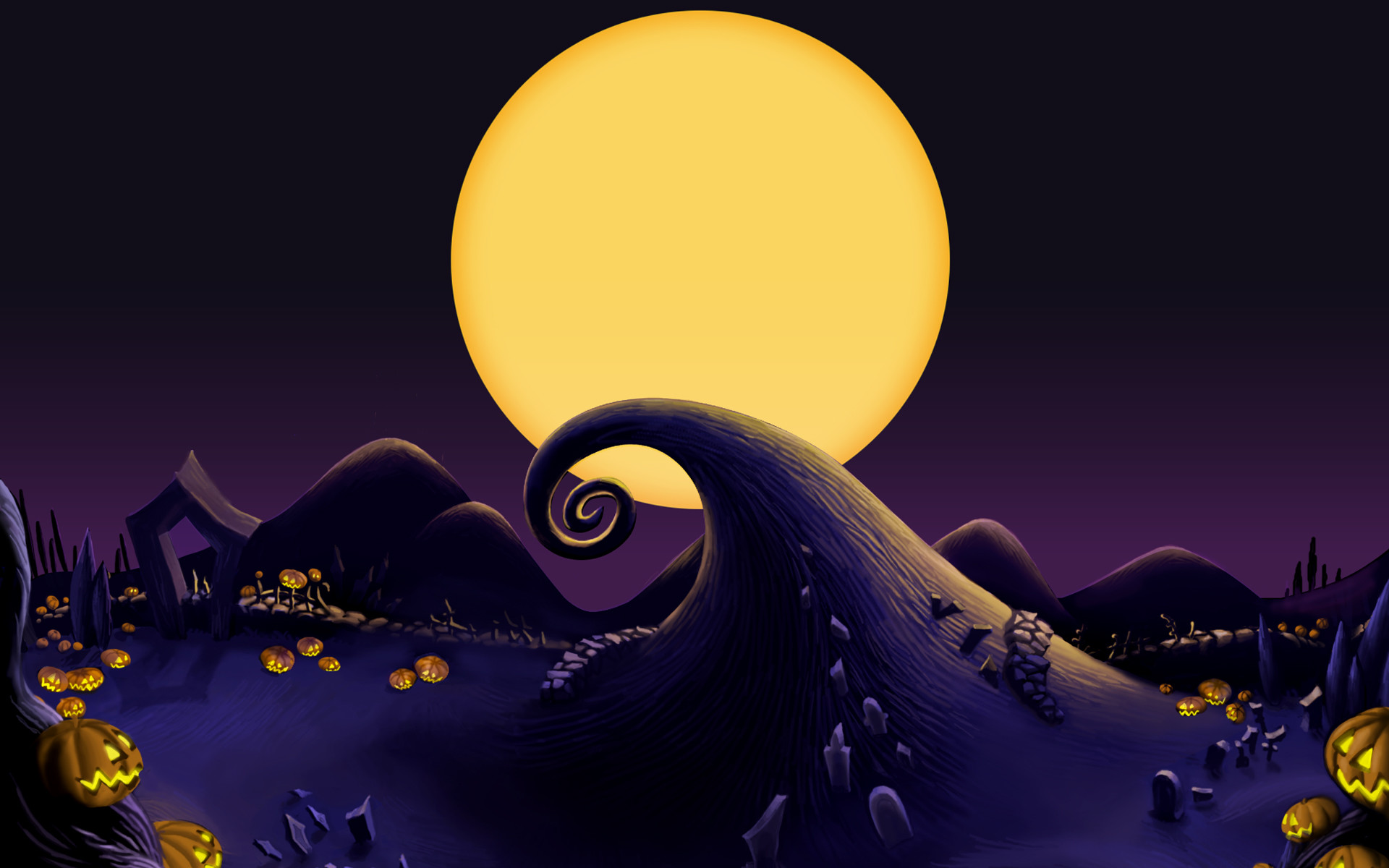 Disney Halloween Backgrounds ·①