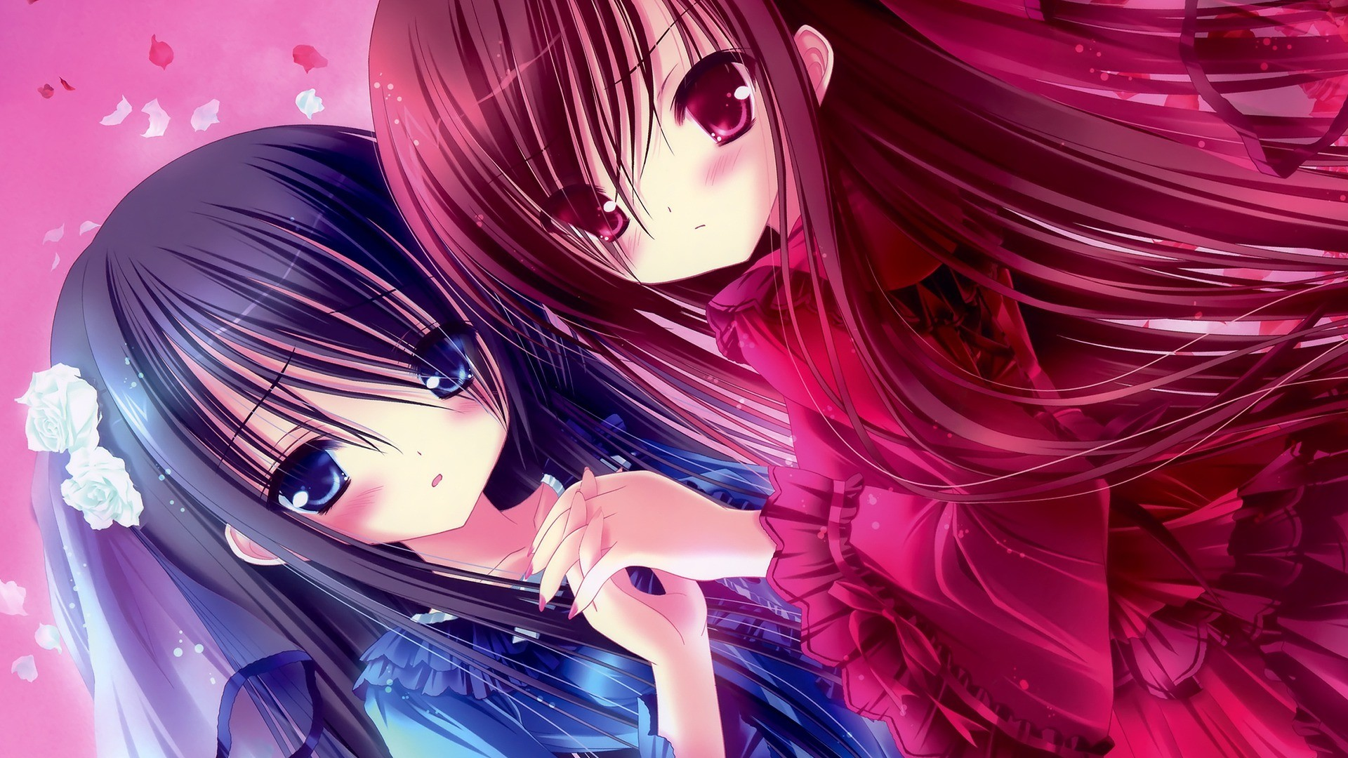 Anime girl background download free amazing full hd - Cute anime girl pictures ...