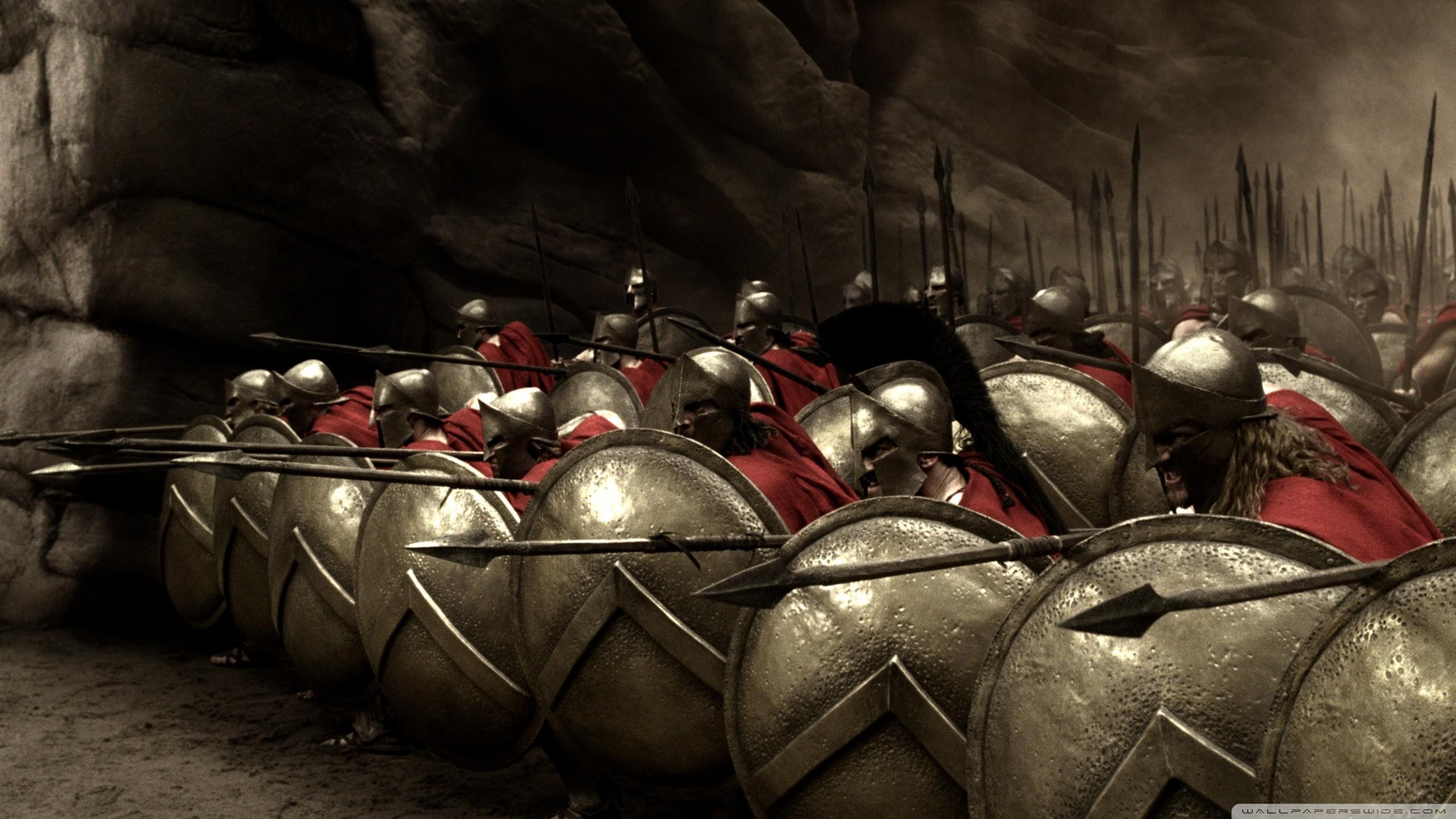 Spartans 300 Wallpaper ①